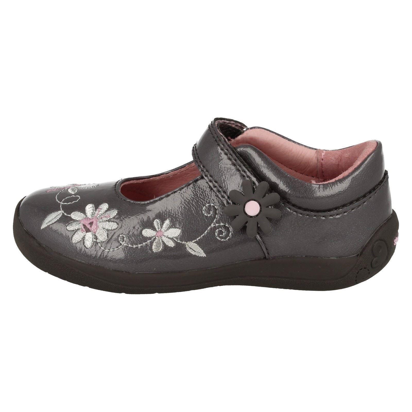 Infant Girls Startrite Flat Shoes Super Soft Honey Bee