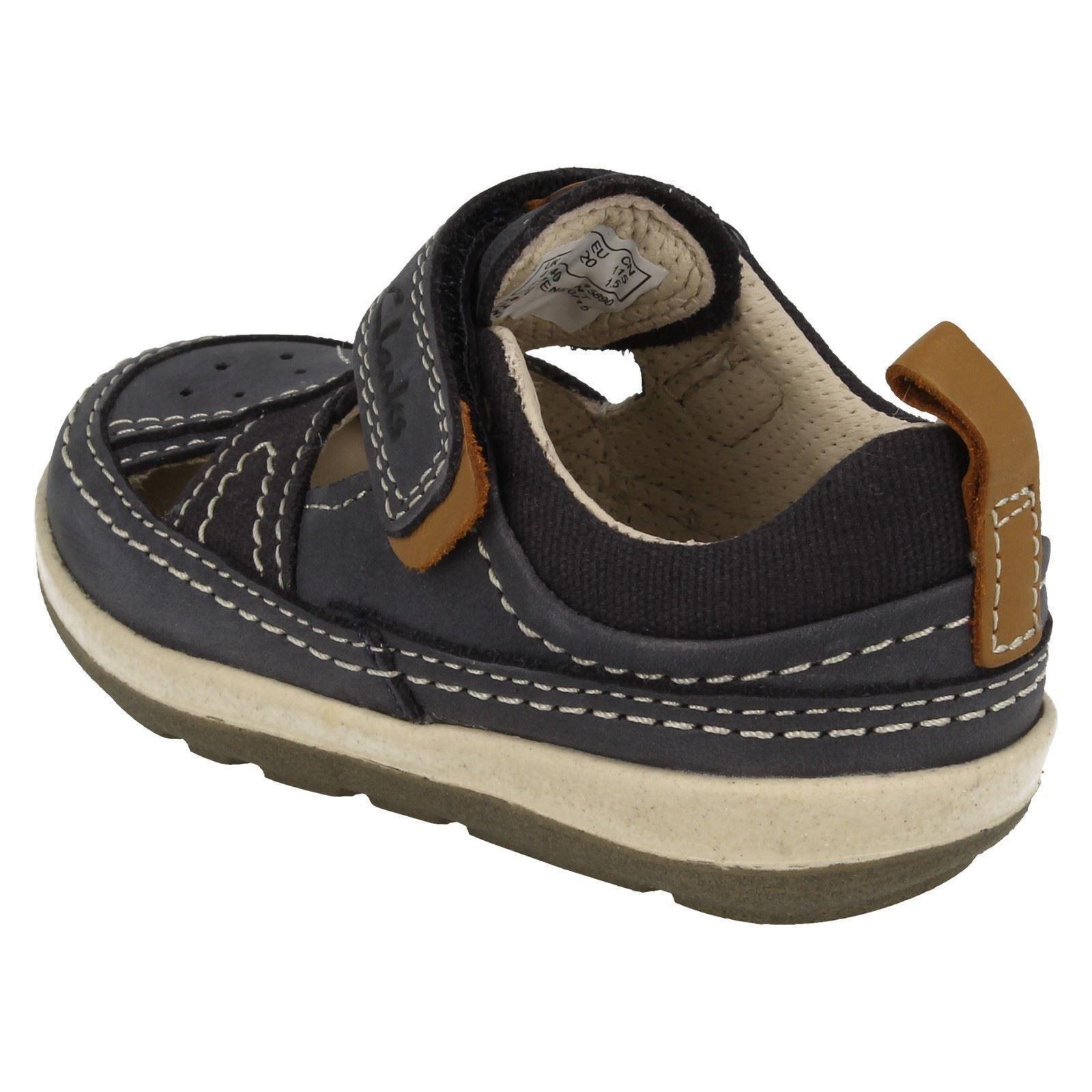 Clarks Boys Closed Toe Sandals Softly Luke