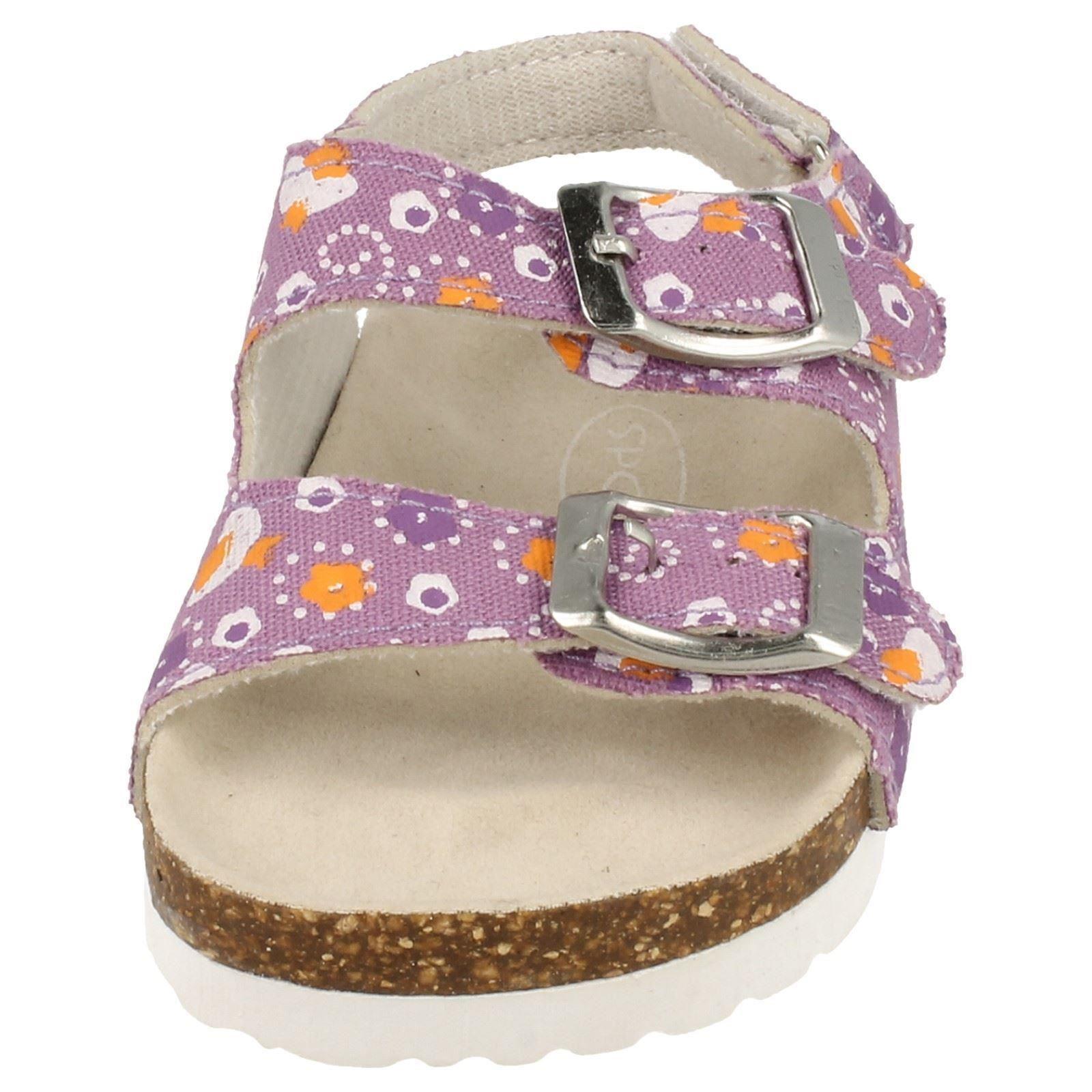 Girls Spot On Buckle Strap Sandals