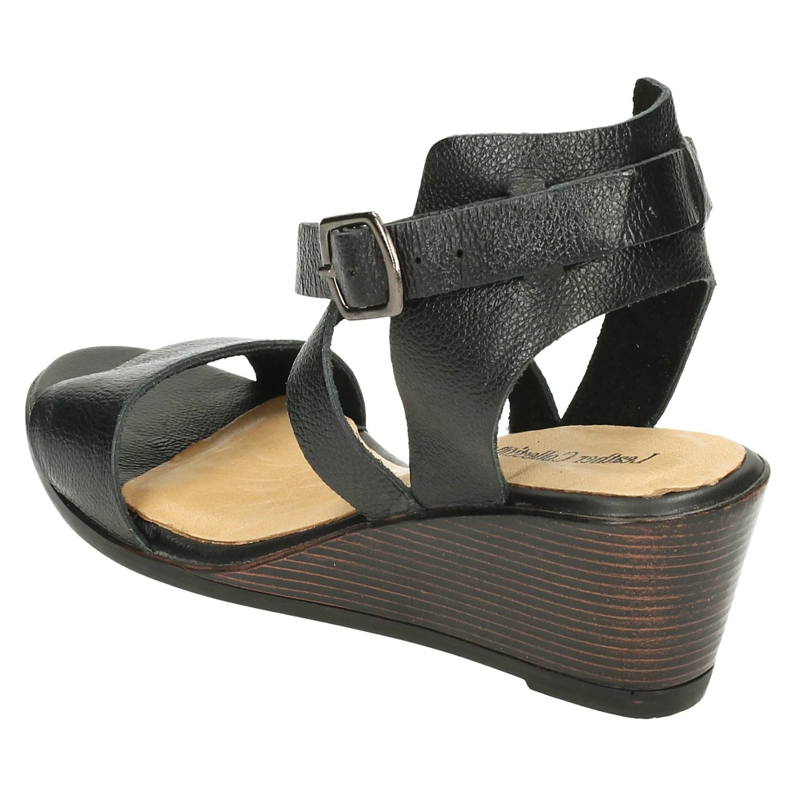 Ladies Leather Collection Open Toe *Sandals*