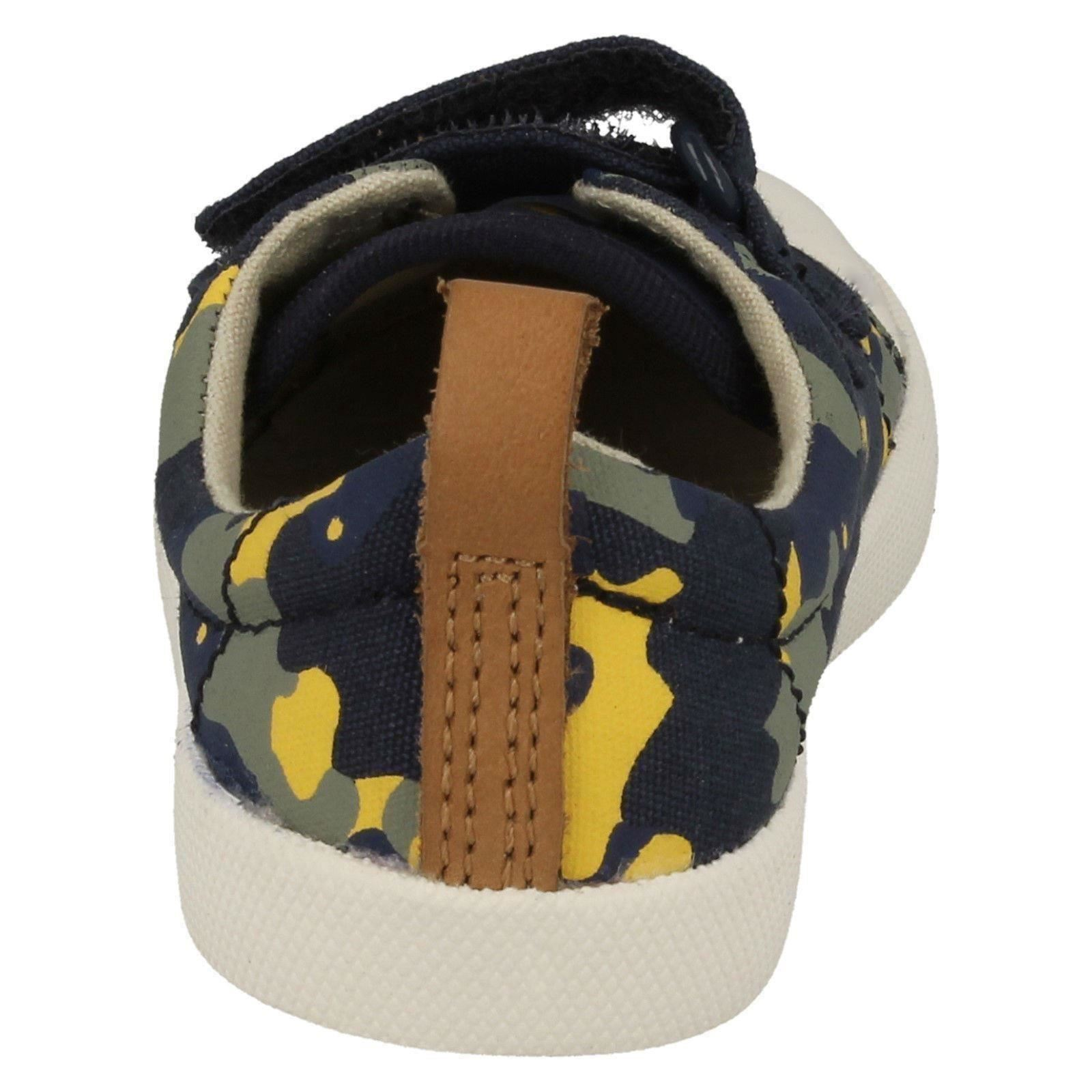 Infant Boys Clarks Halcy High Machine Washable Summer Doodles
