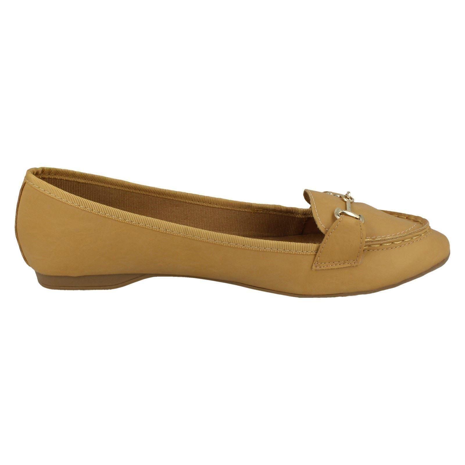 Ladies Flat Shoes Spot On