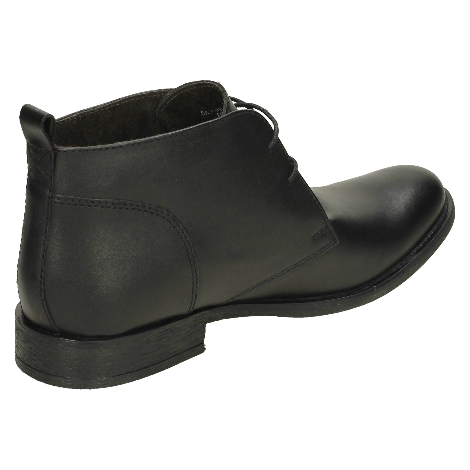 Mens Base London Formal Ankle Boots /'Teak/'