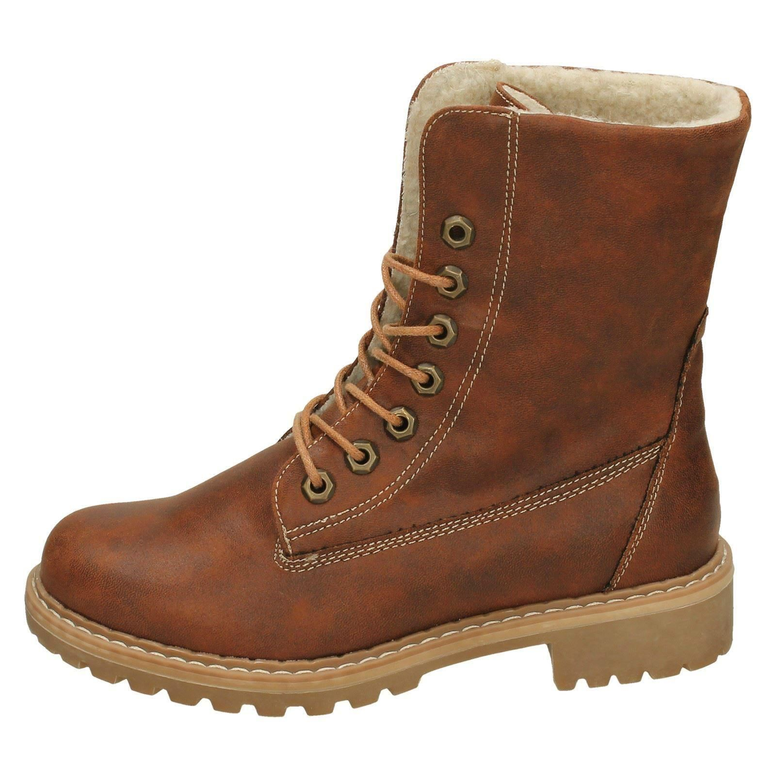 Ladies Down To Earth Fleece Lined /'Calf Boots/'