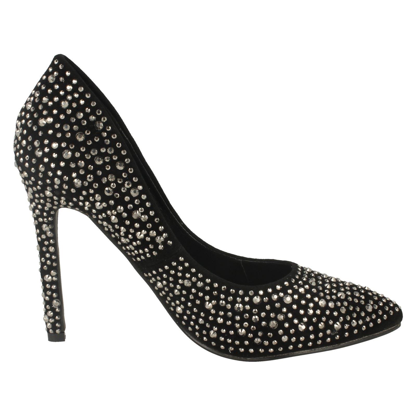 Anne Michelle Ladies Polka Dot Court Shoes