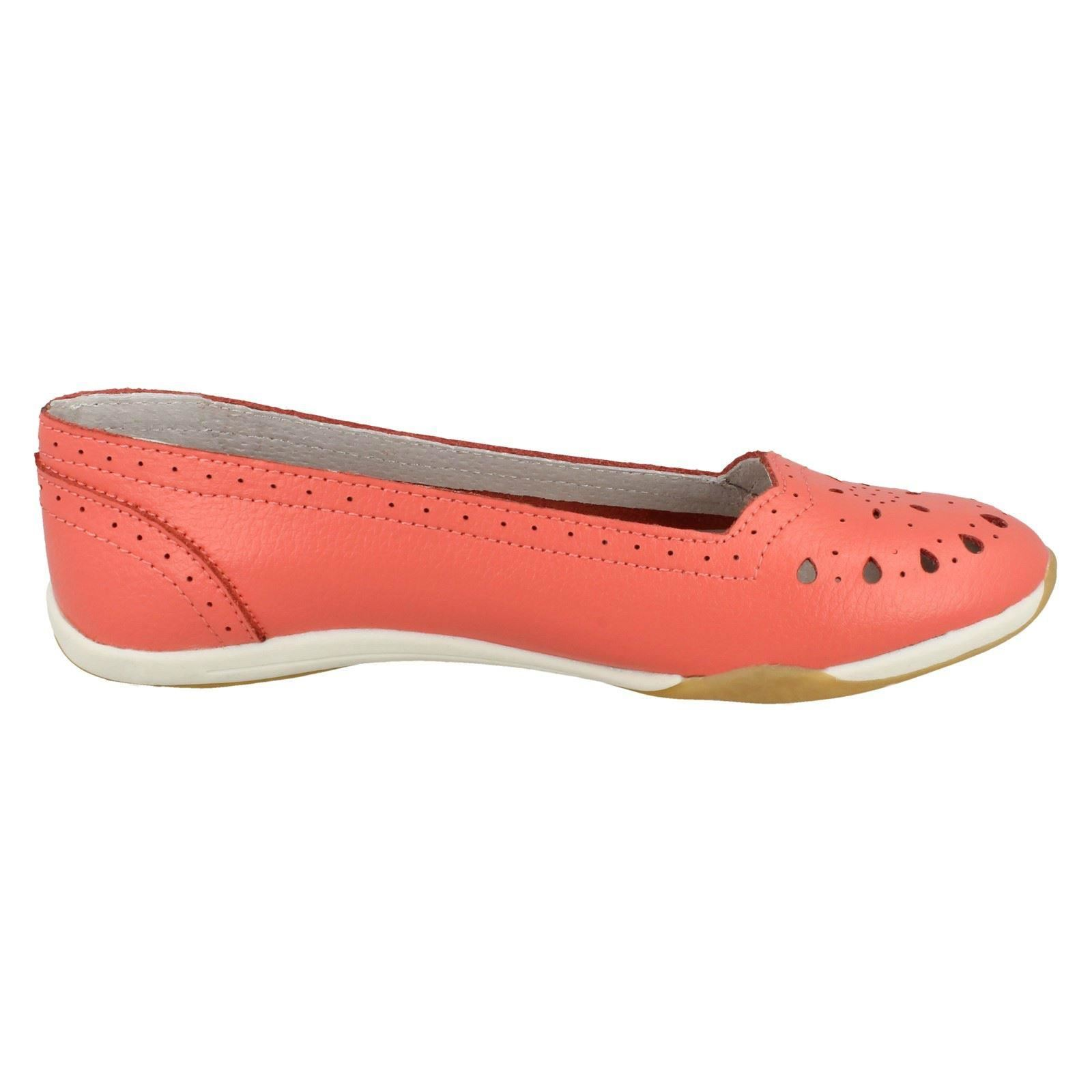 Ladies Down To Earth Flat Comfort /'Ballerina Shoes/'