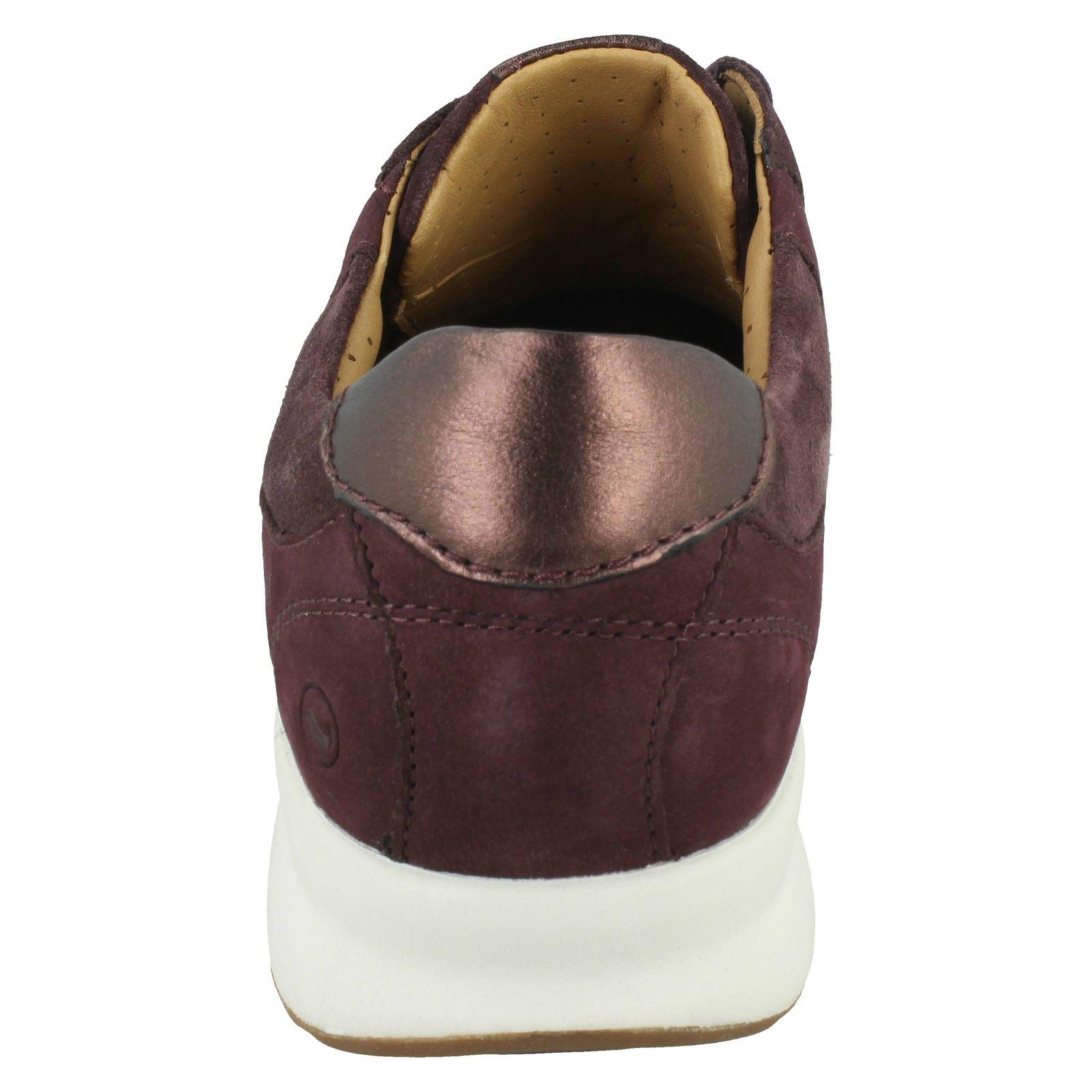 Ladies Clarks Un Adorn Lace Unstructured Lace Up Shoes