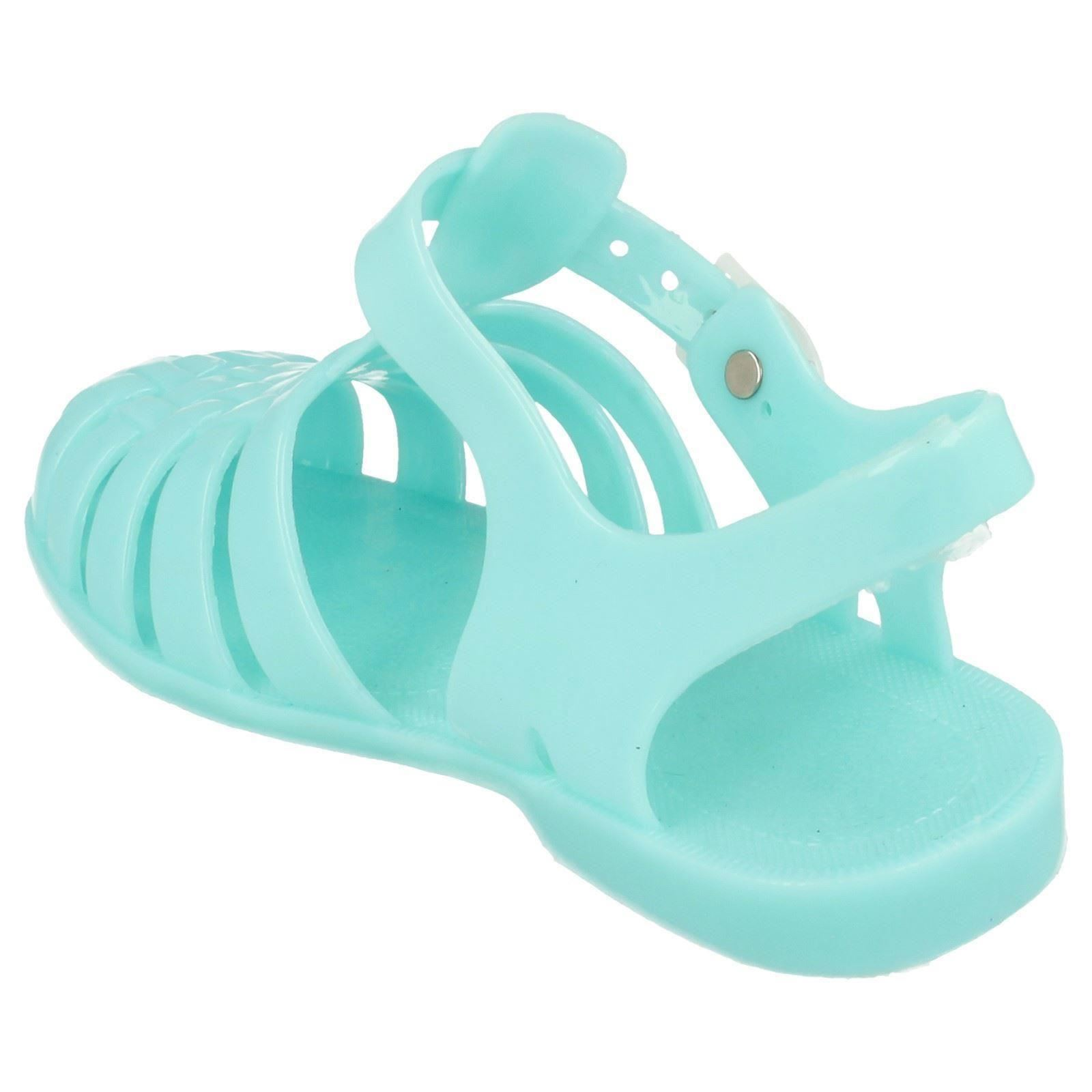 Girls Glow in the Dark Jelly Sandals *Spot On*