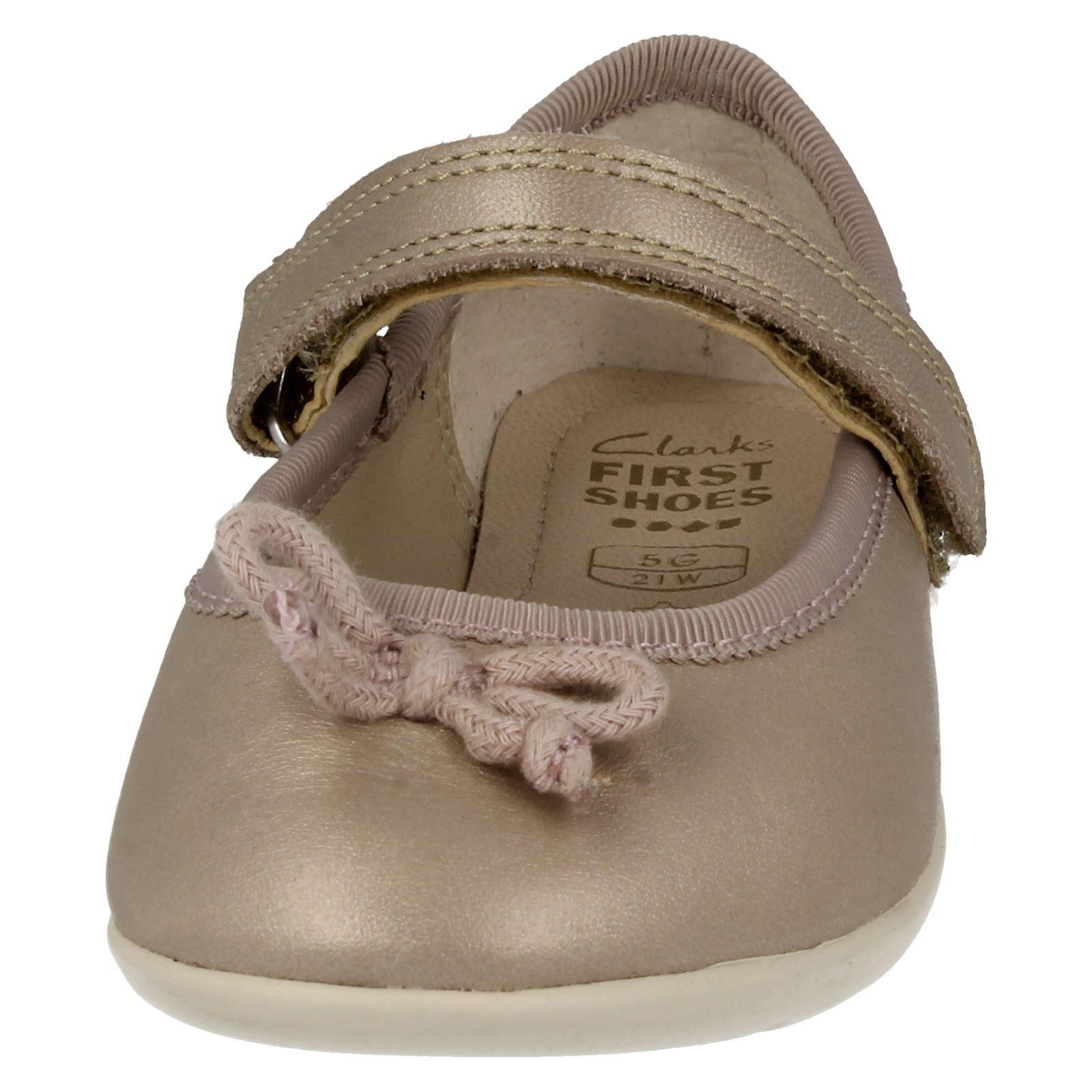 Infant Girls Clarks Ballerina Shoes Dance Joy