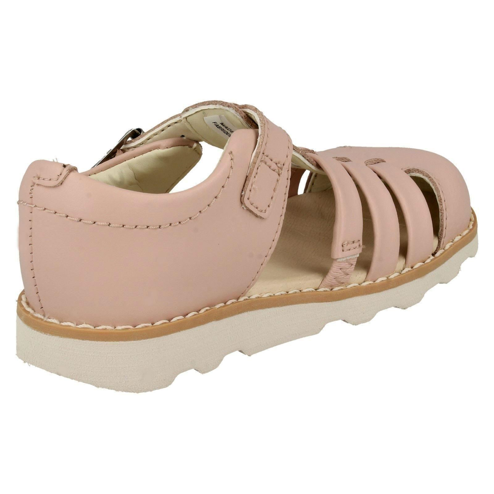 Childrens Boys Girls Clarks Closed Toe Sandals Crown Stem