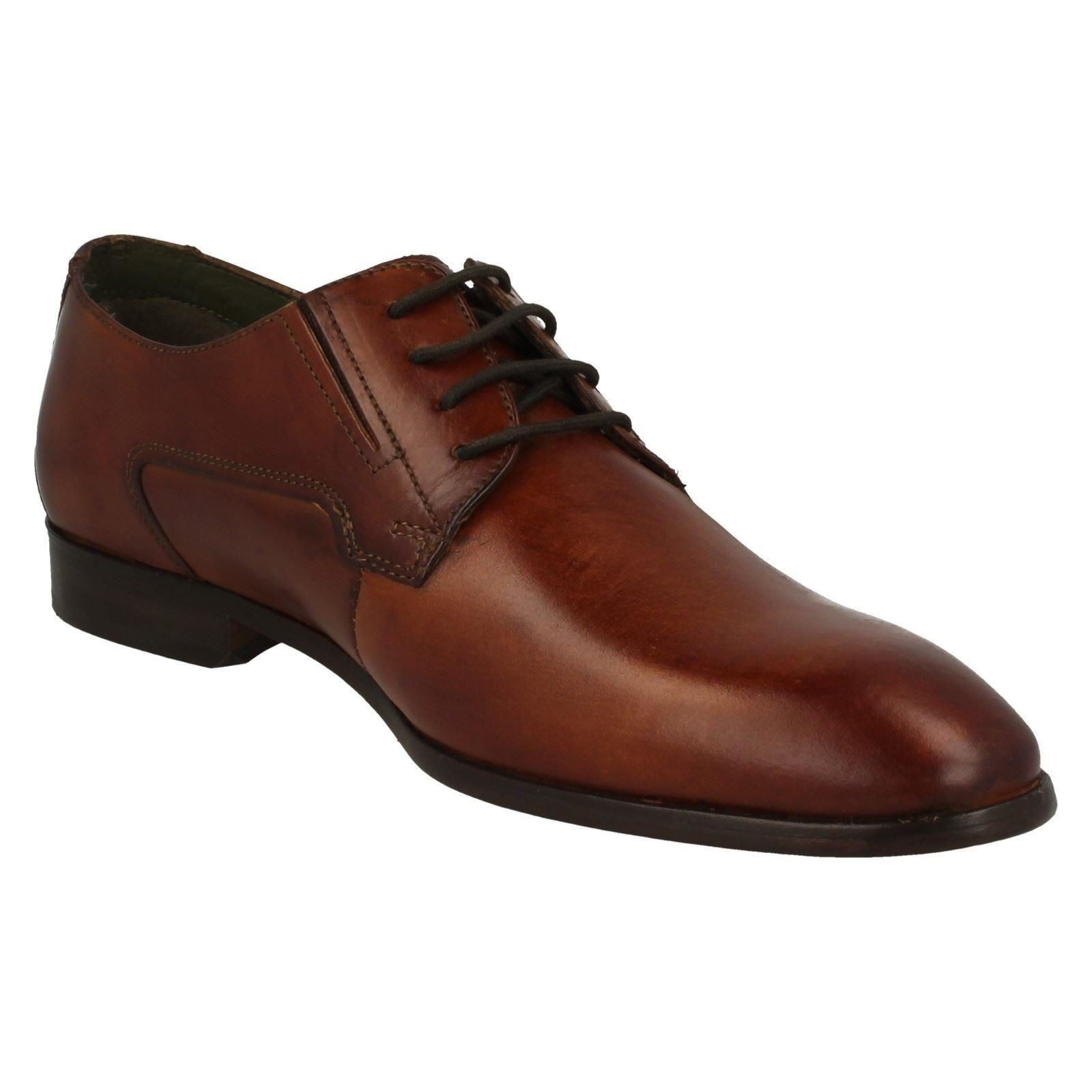 Bugatti Mens Formal Lace Up Shoes 311-41901-1100-6300