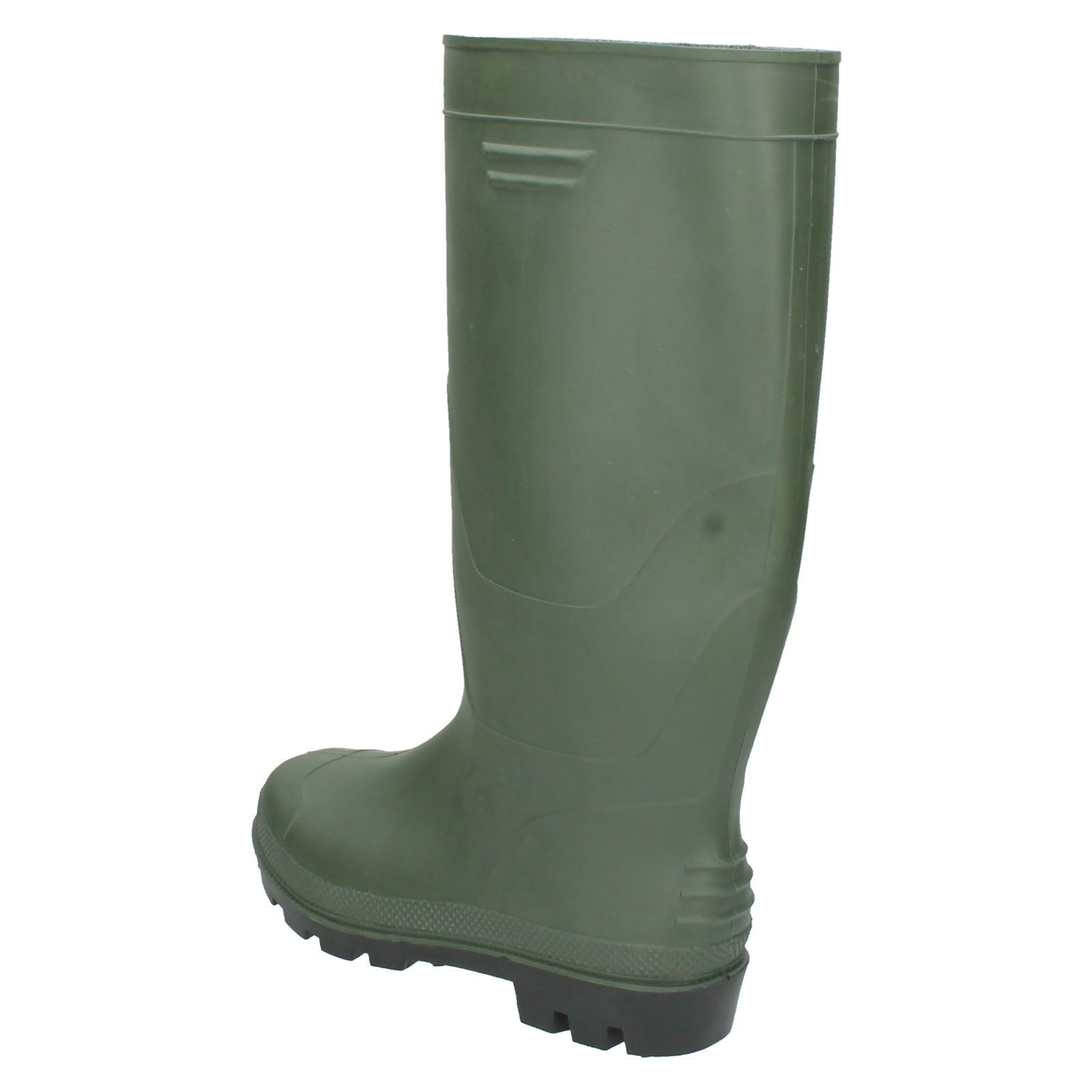 Ladies Spot On Flat /'Wellington Boot/'
