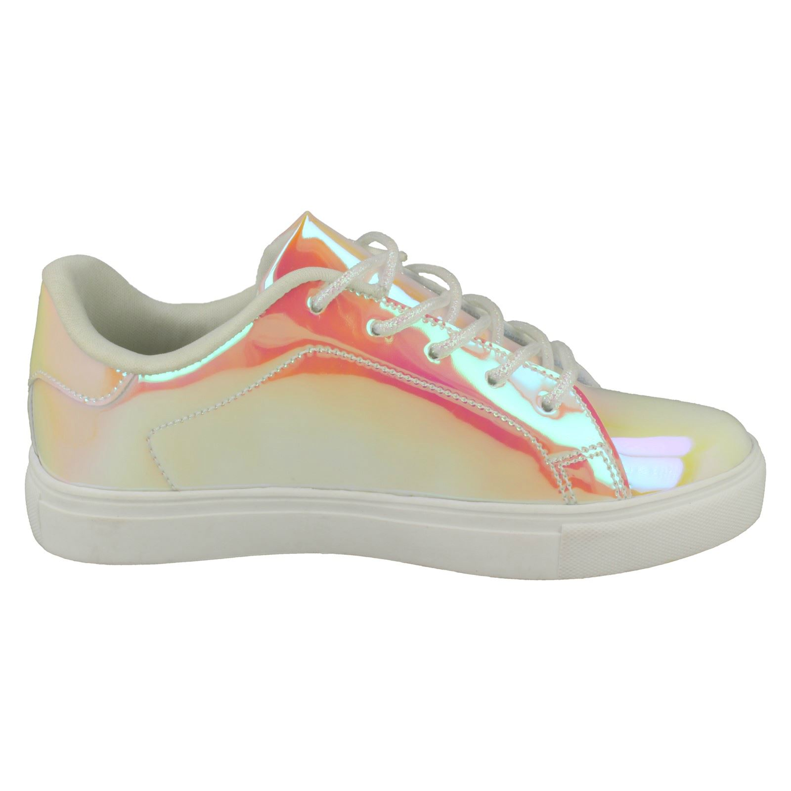 Girls Spot On Hologram Trainers