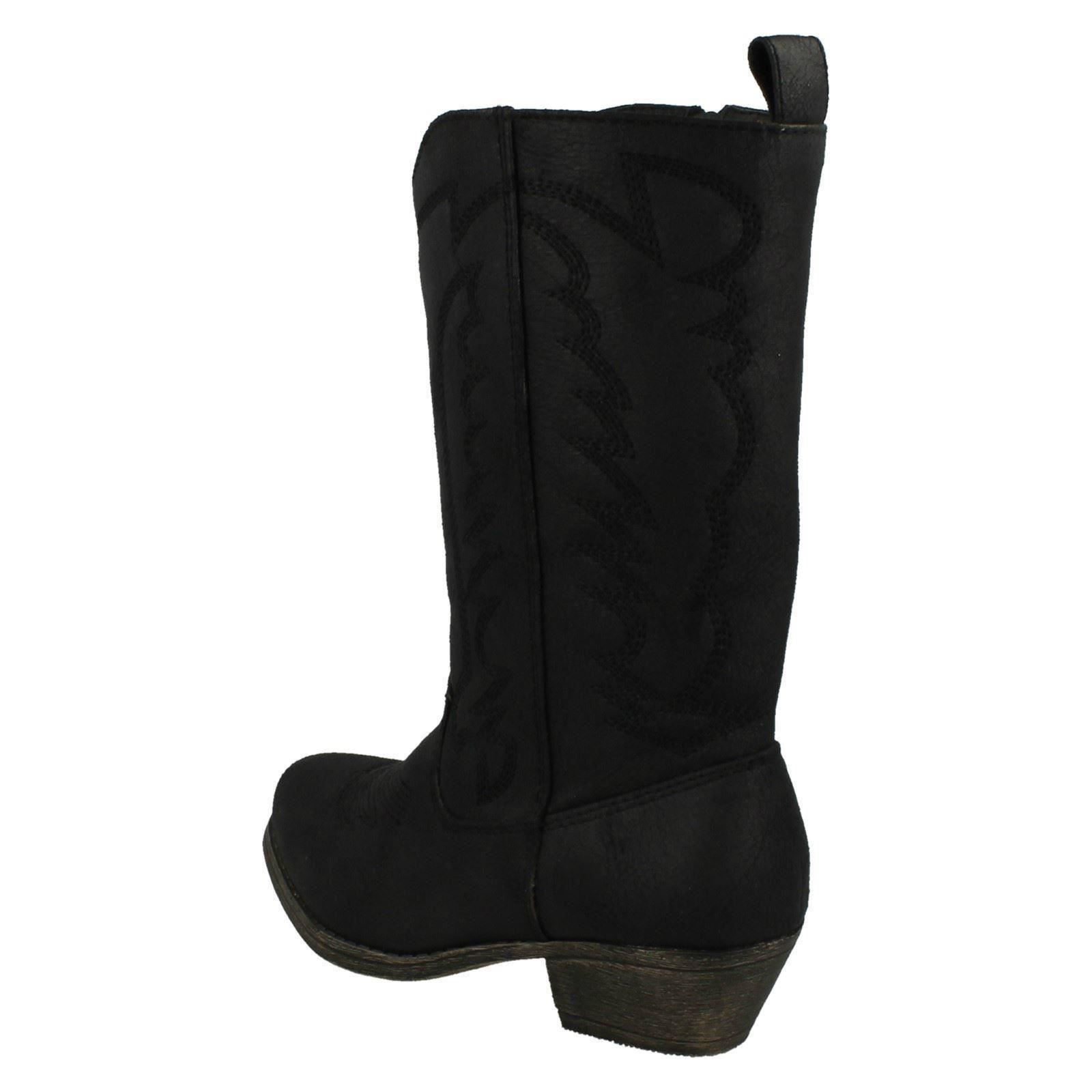 Girls Cutie Mid-Calf Cowboy Style /'Boots/'