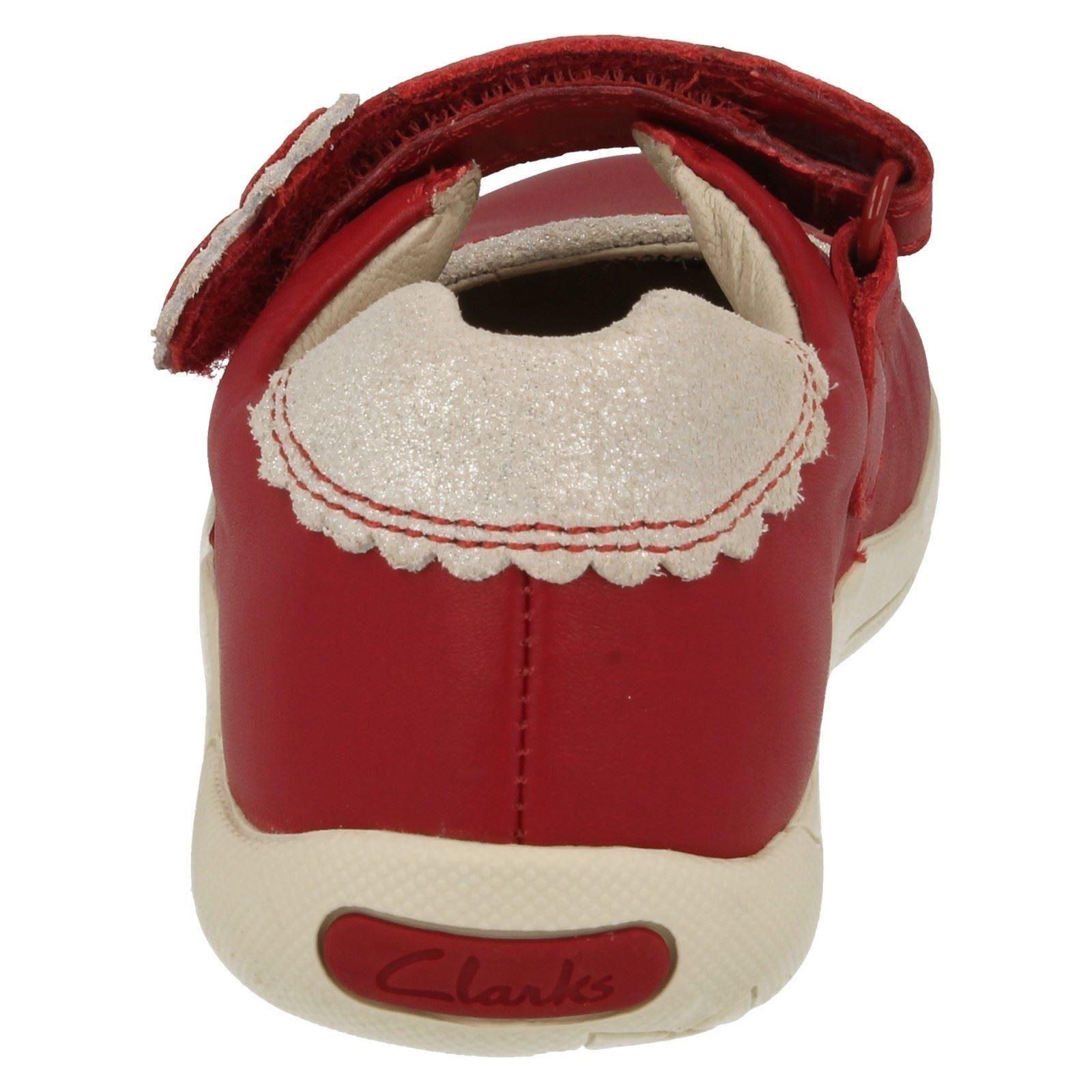 Girls Clarks Casual Shoes /'Binnie Heart/'