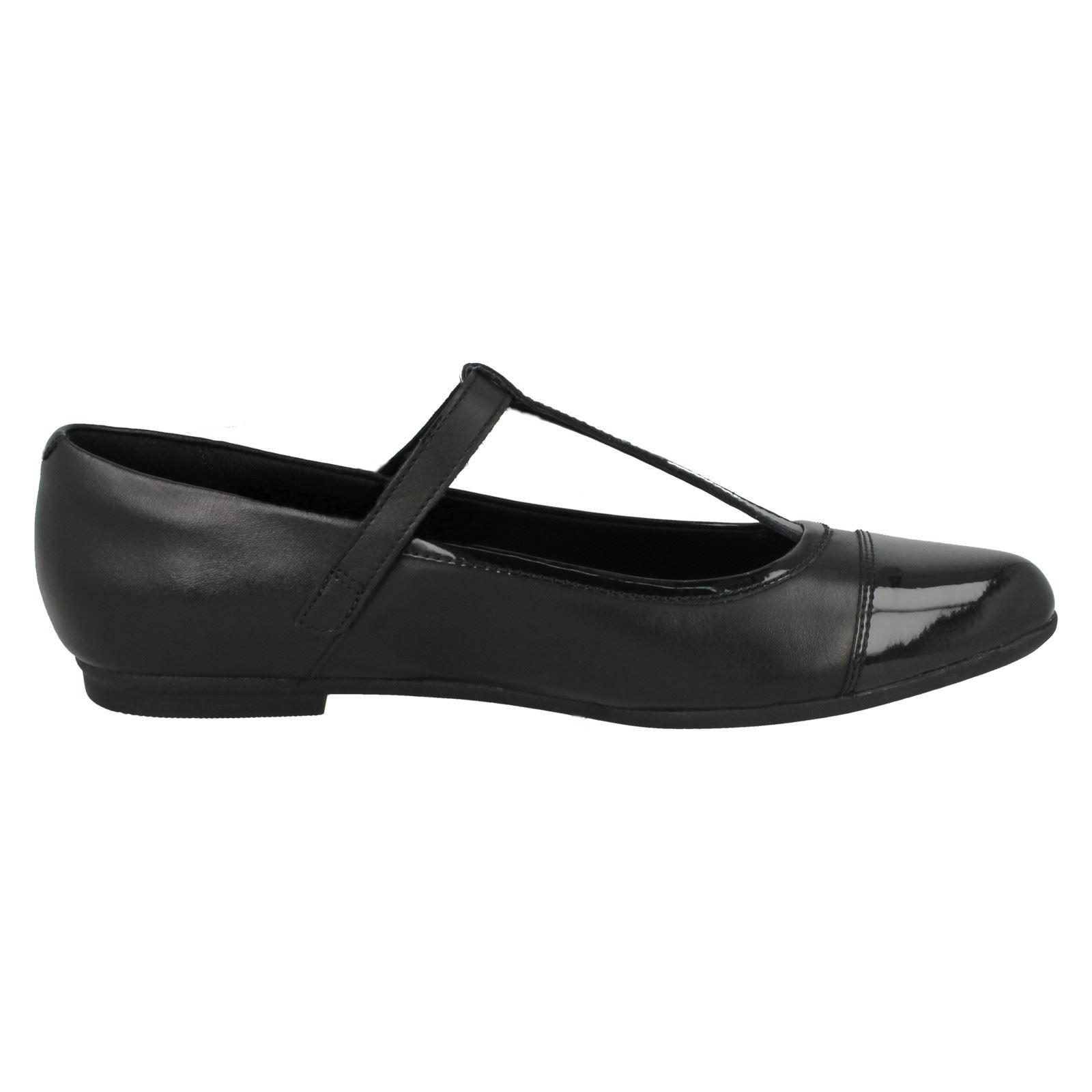 Nebbia al quarzo * Bambina: scarpe Ragazze Bootleg by Calrks Scarpe Scuola Abbigliamento e accessori
