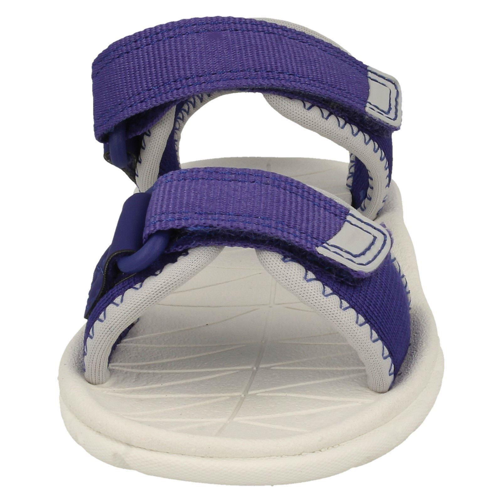 Childrens Boys Girls Clarks Light Weight Sandals Surfing Tide