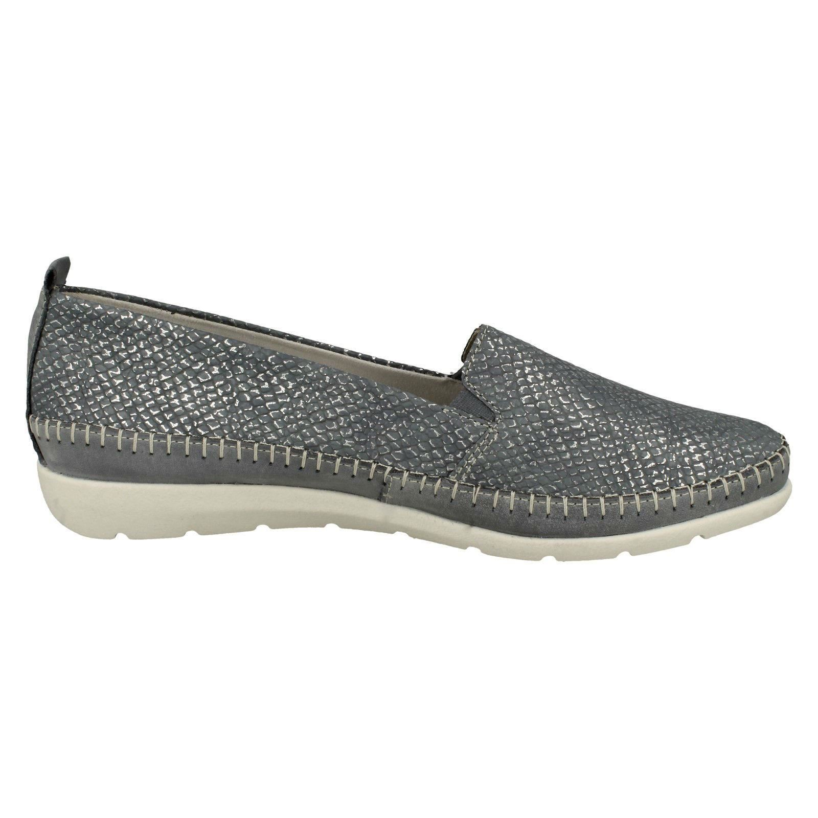 Ladies Remonte Casual Slip On Shoes *D1902*