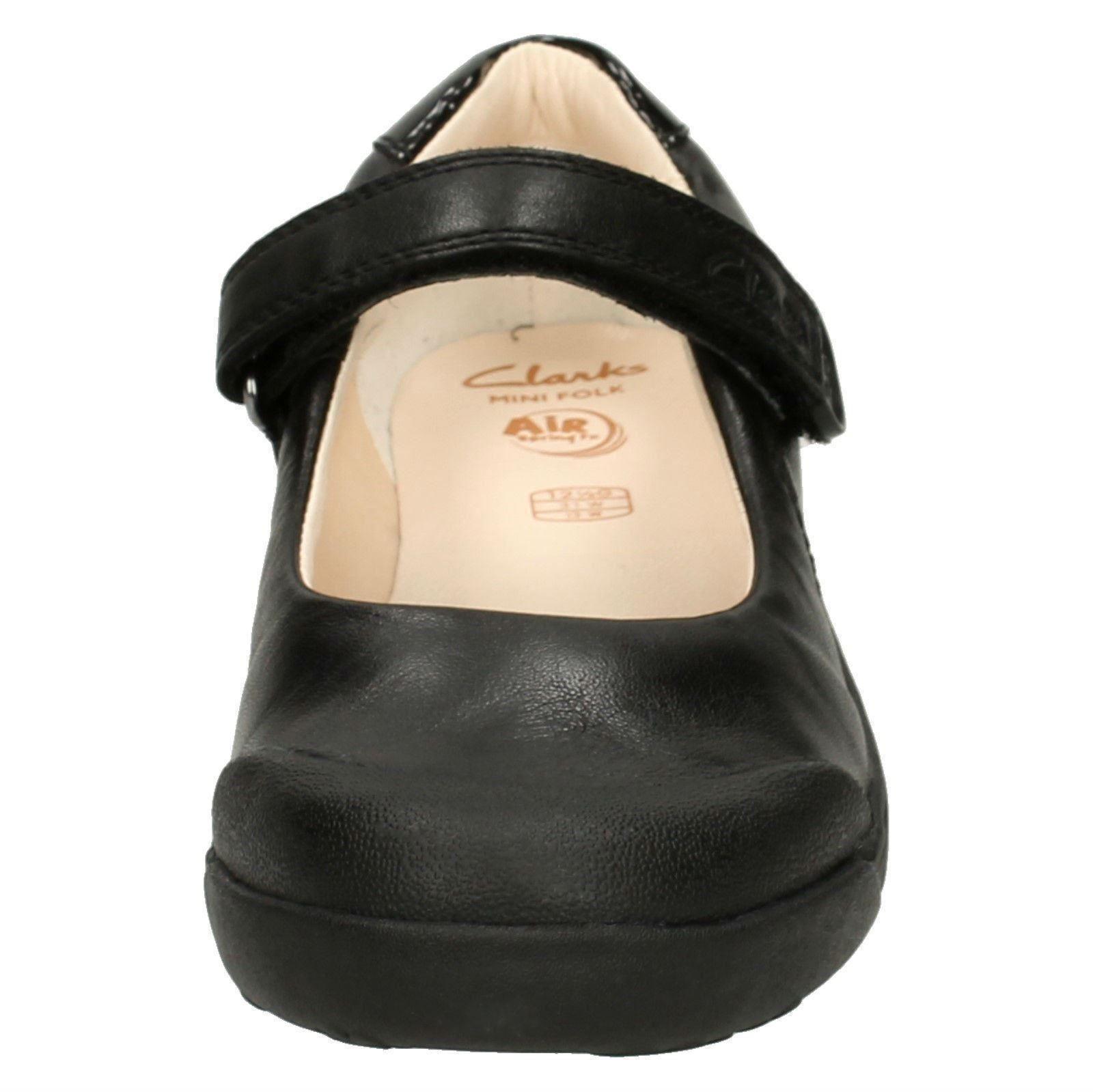 Girls Clarks School Shoes /'Lil Folk Bud/'