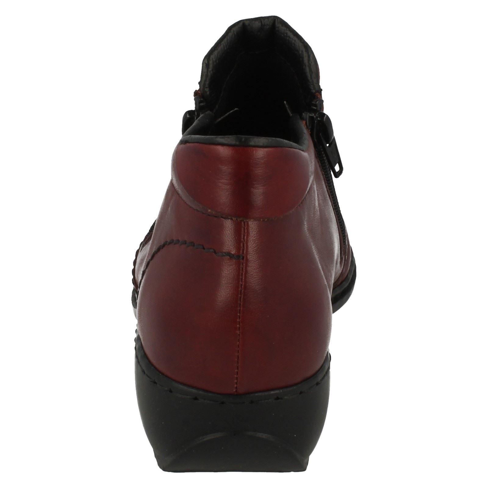 Ladies Rieker Stylish Antistress Ankle Boots L3892