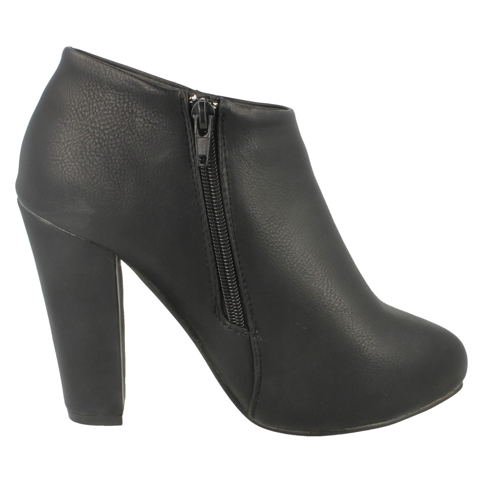 Ladies Anne Michelle Heeled Ankle /'Boots/'
