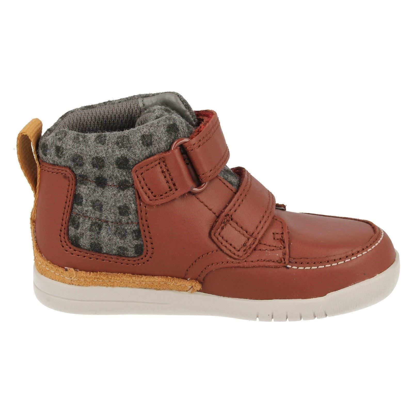 Infant Clarks Boys Ankle Boots Crazy Ben