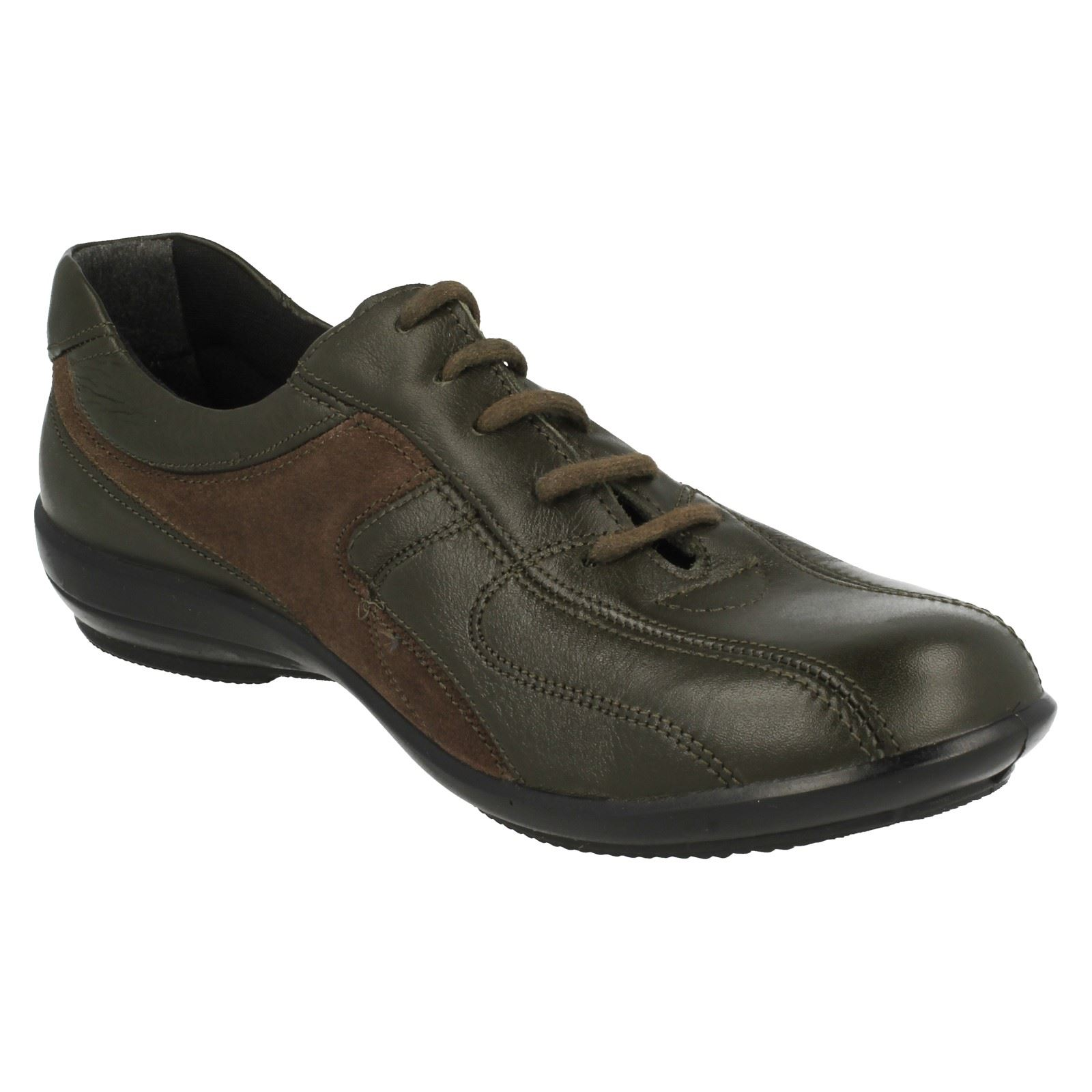 Femmes easy b lacets chaussures de loisirs emma