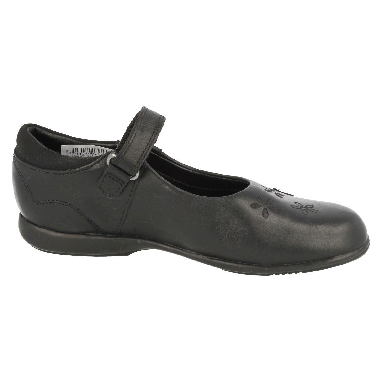 "Girls Clarks School Shoes /""Breena Toes/"""