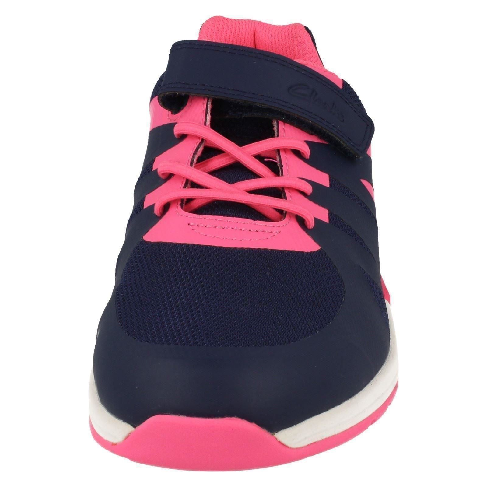 Girls Cica by Clarks Trainers *Trace Star*