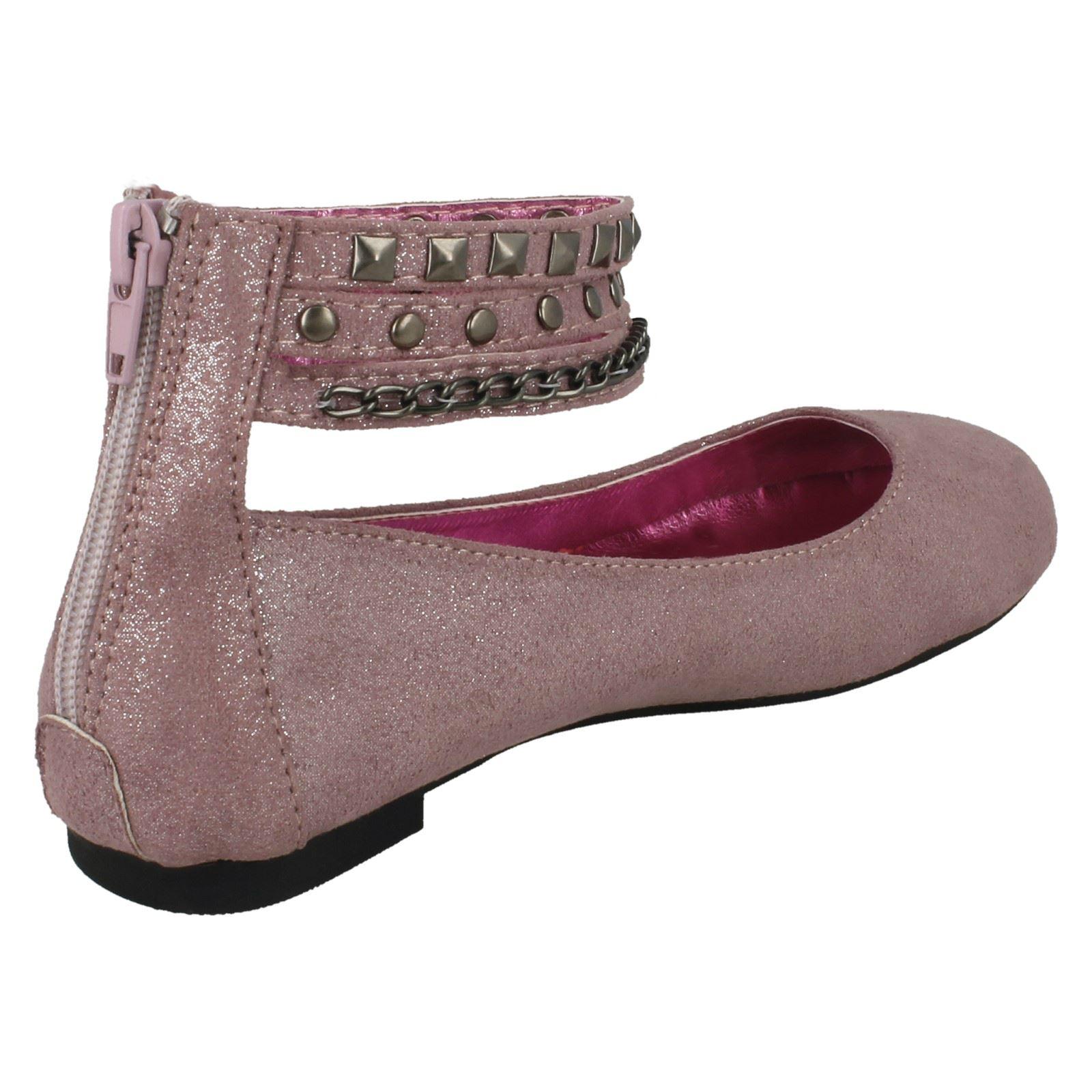 Girls Cutie Flat Ballerina Shoes