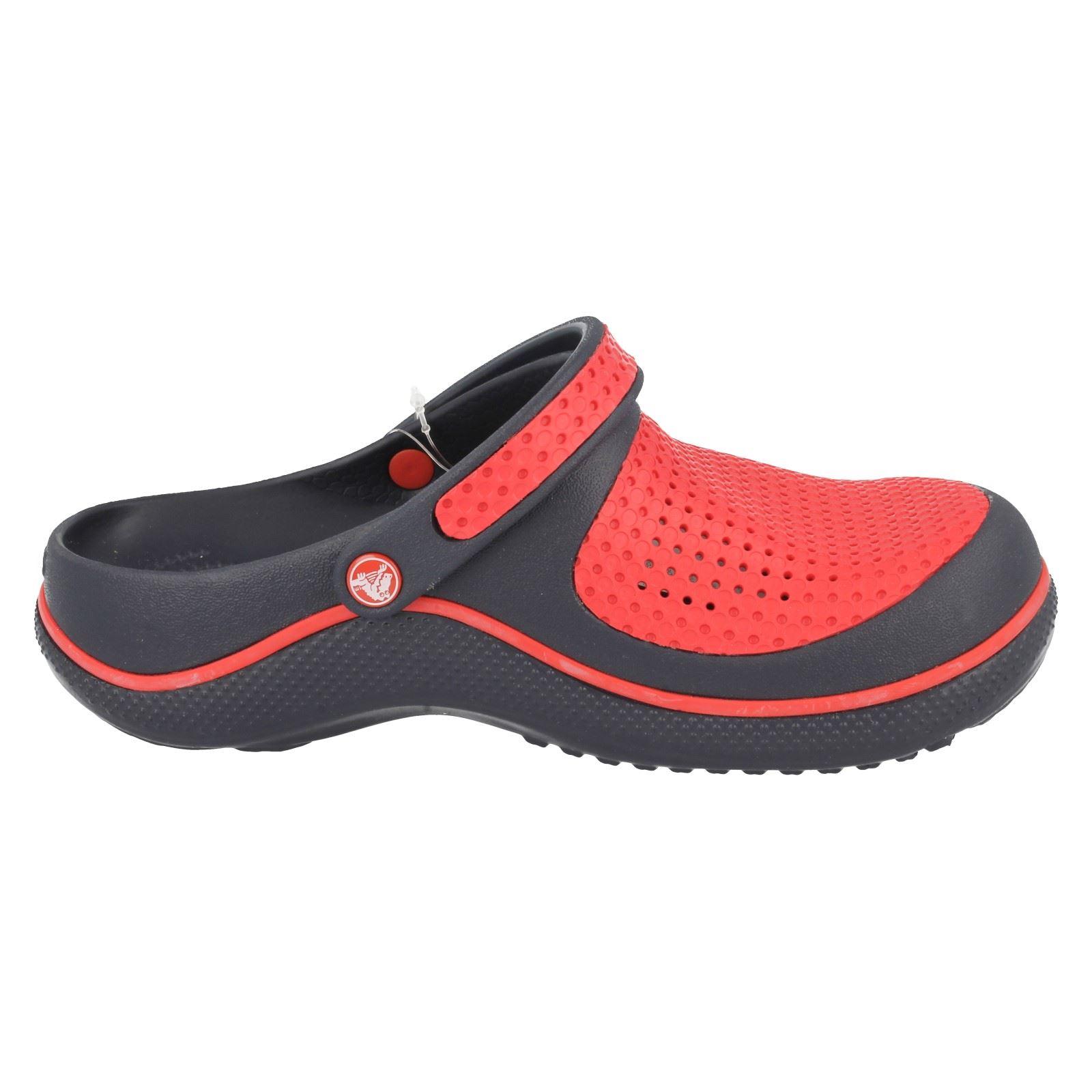 Childrens Crocs Casual Slip On Synthetic Summer Sandals Crosmesh Clog Kids
