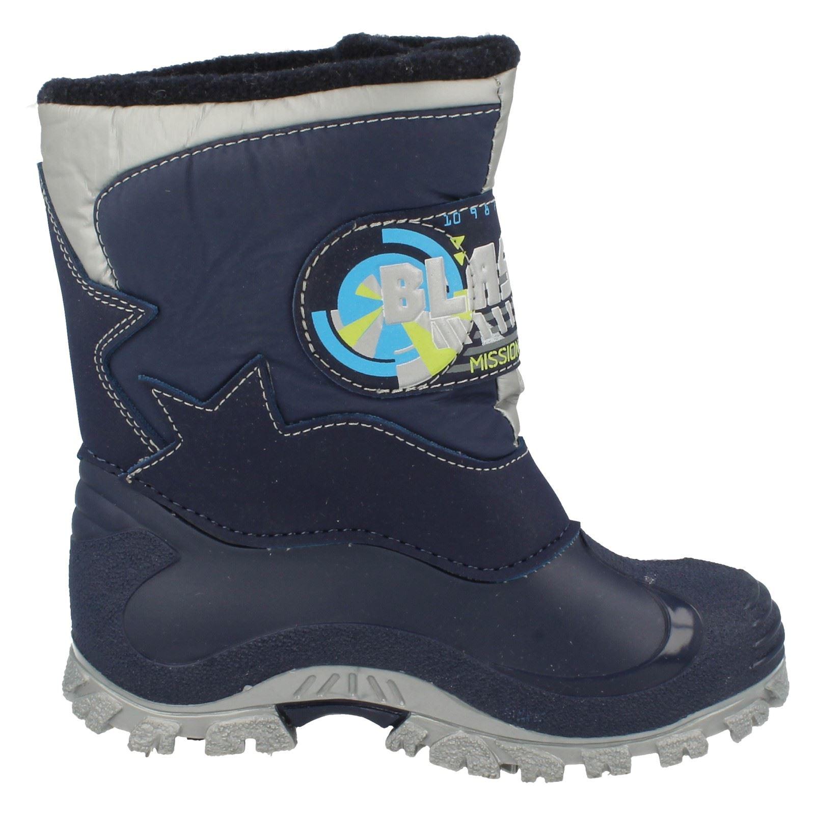 Boys Startrite Blast Off Snow Boots