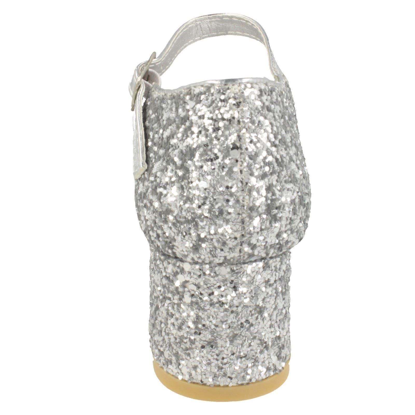 Girls Spot On Glitter Party Shoes