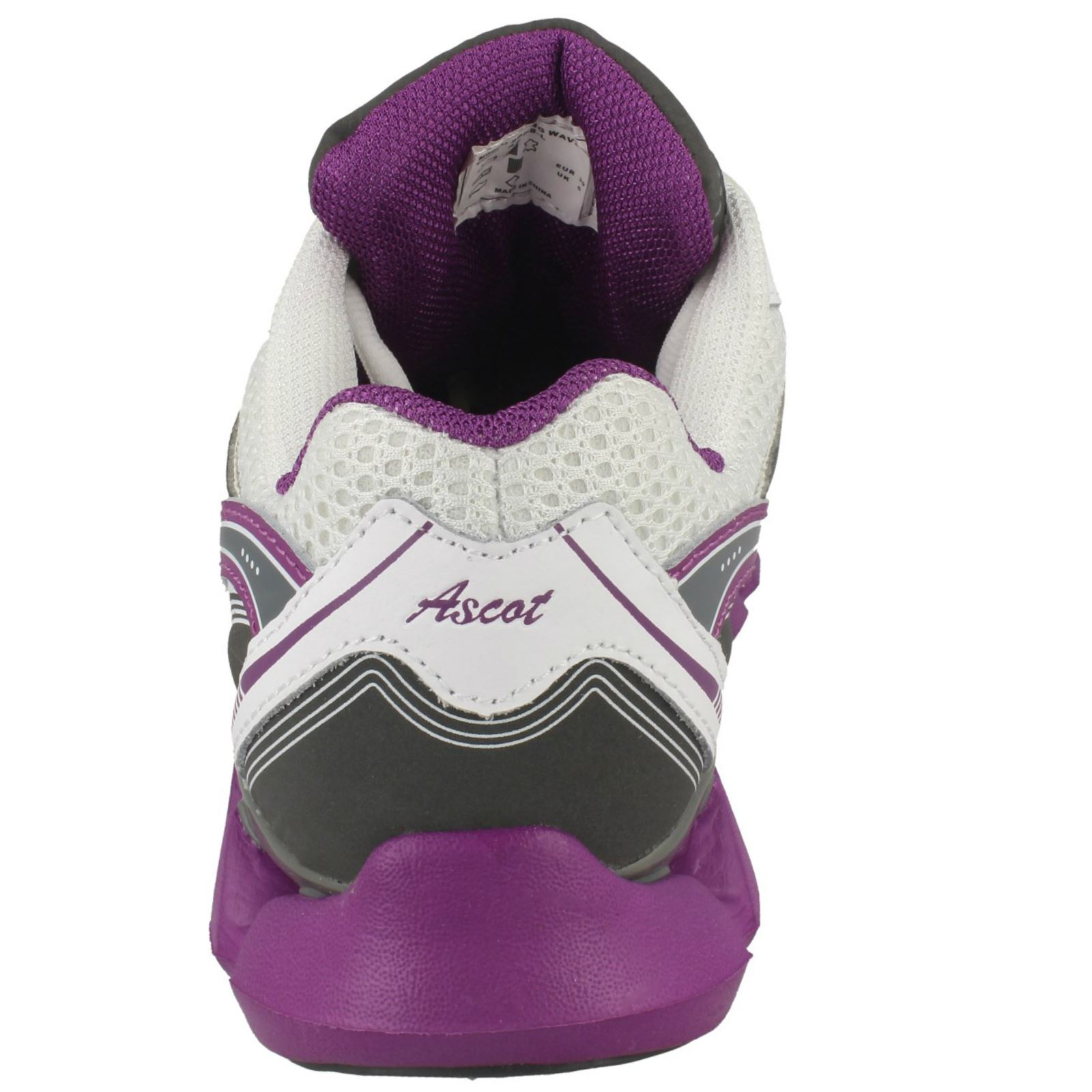 Details about  /Ladies Ascot Casual Lace Up Trainers *Spring Wave*