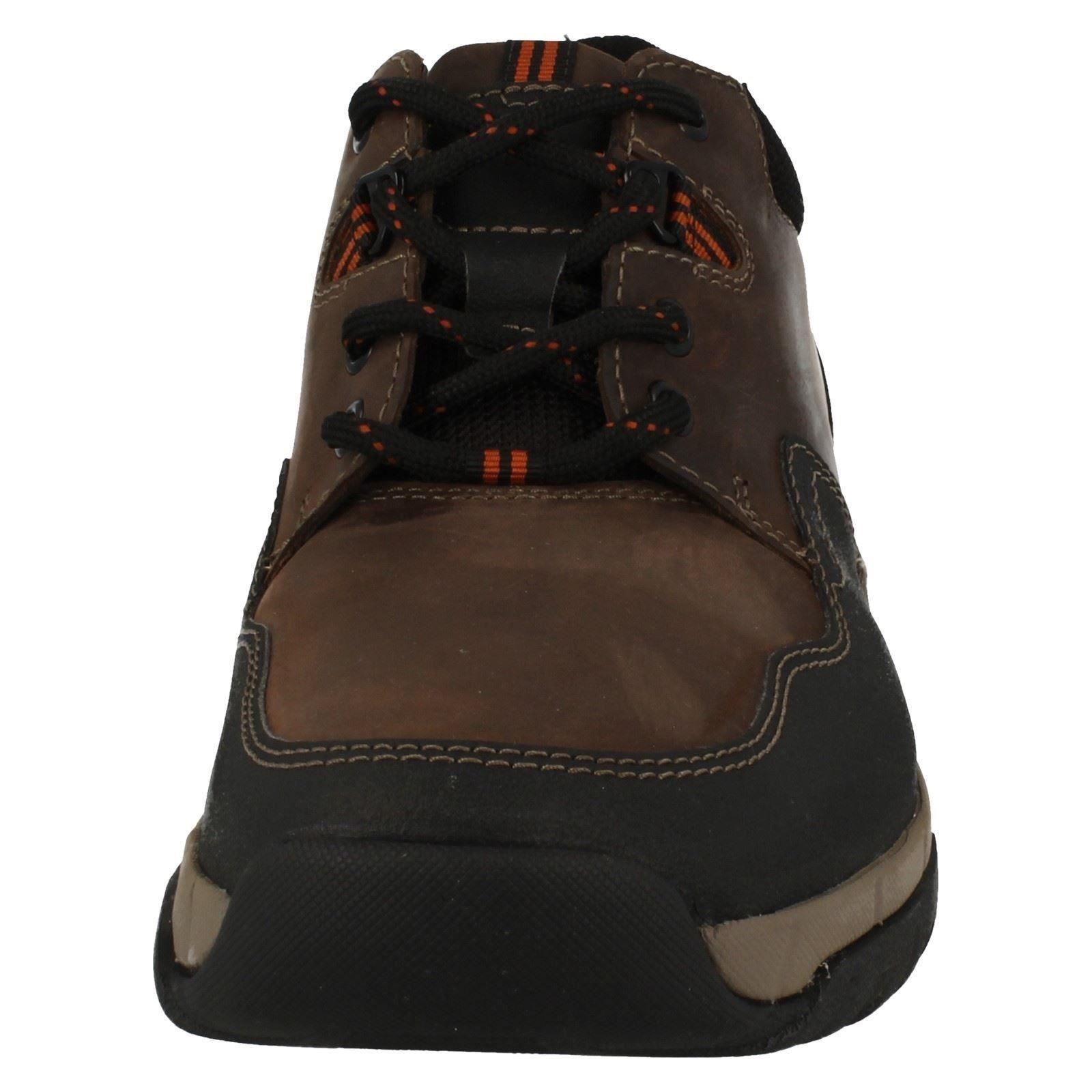 Clarks Mens Casual Waterproof Lace Up Shoes Walbeck Edge