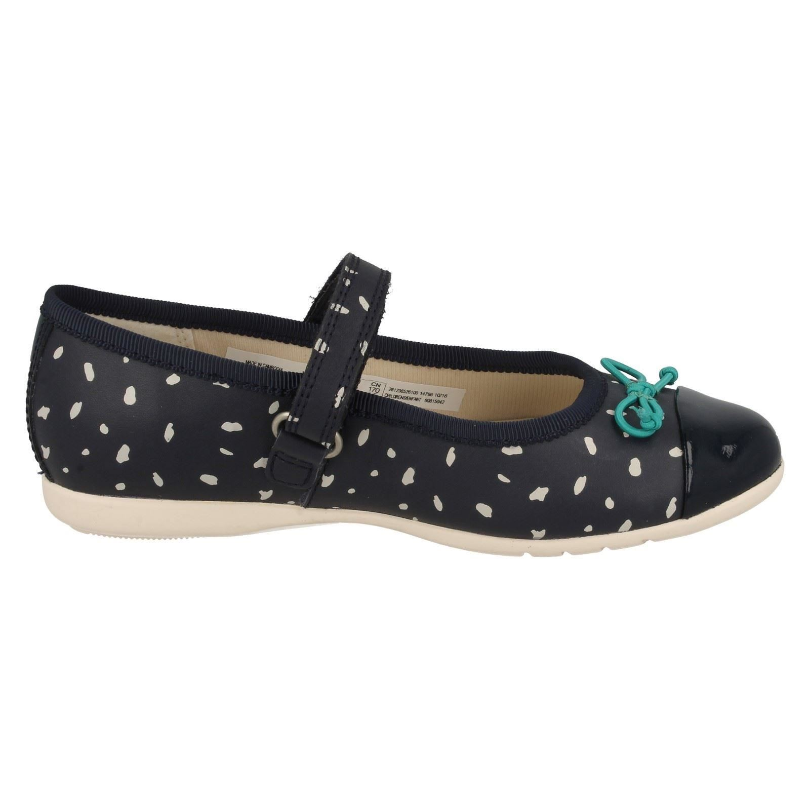 Infant Girls Clarks Ballet Style Shoes /'Dance Mad/'