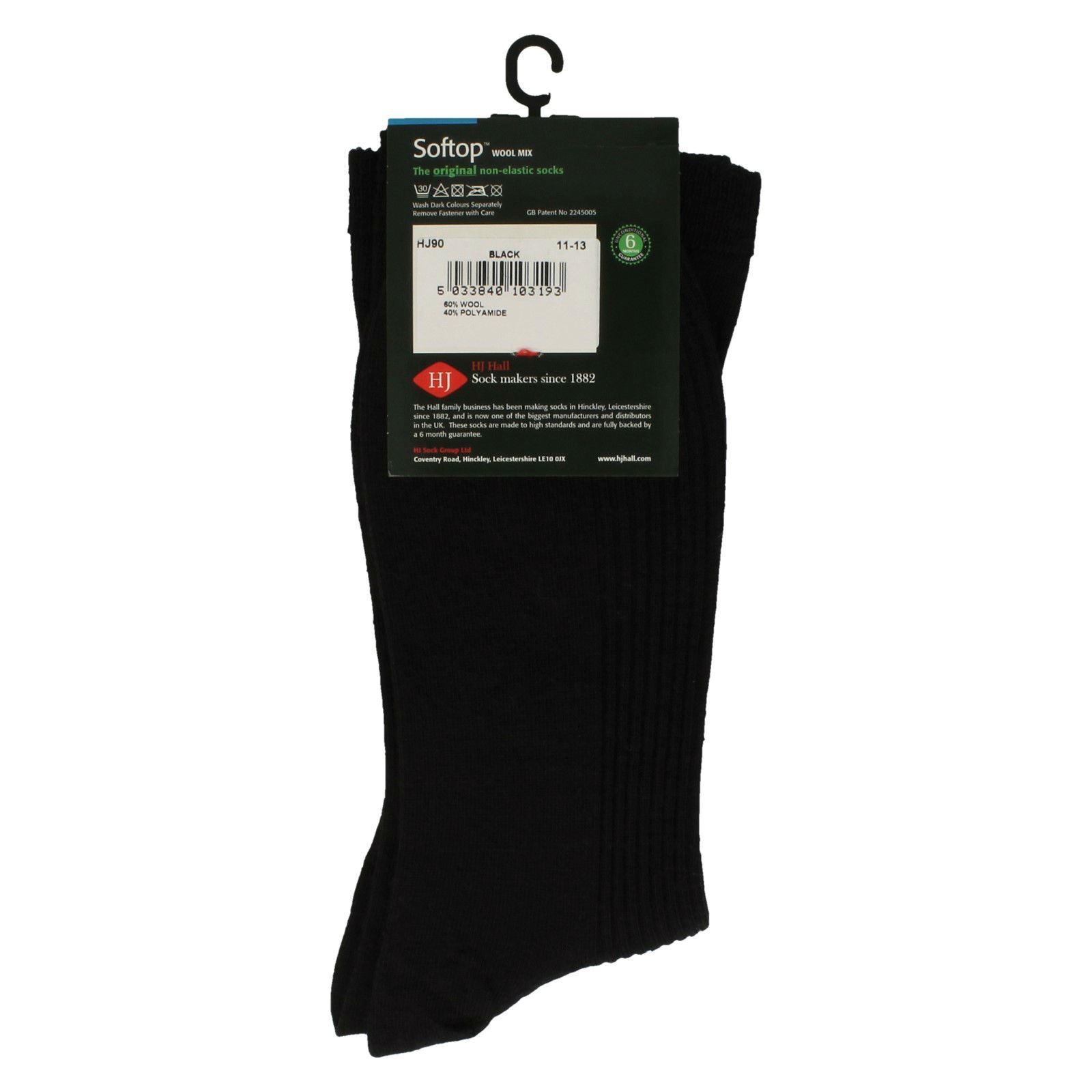 Mens HJ Merino Wool Socks Softop HJ 90