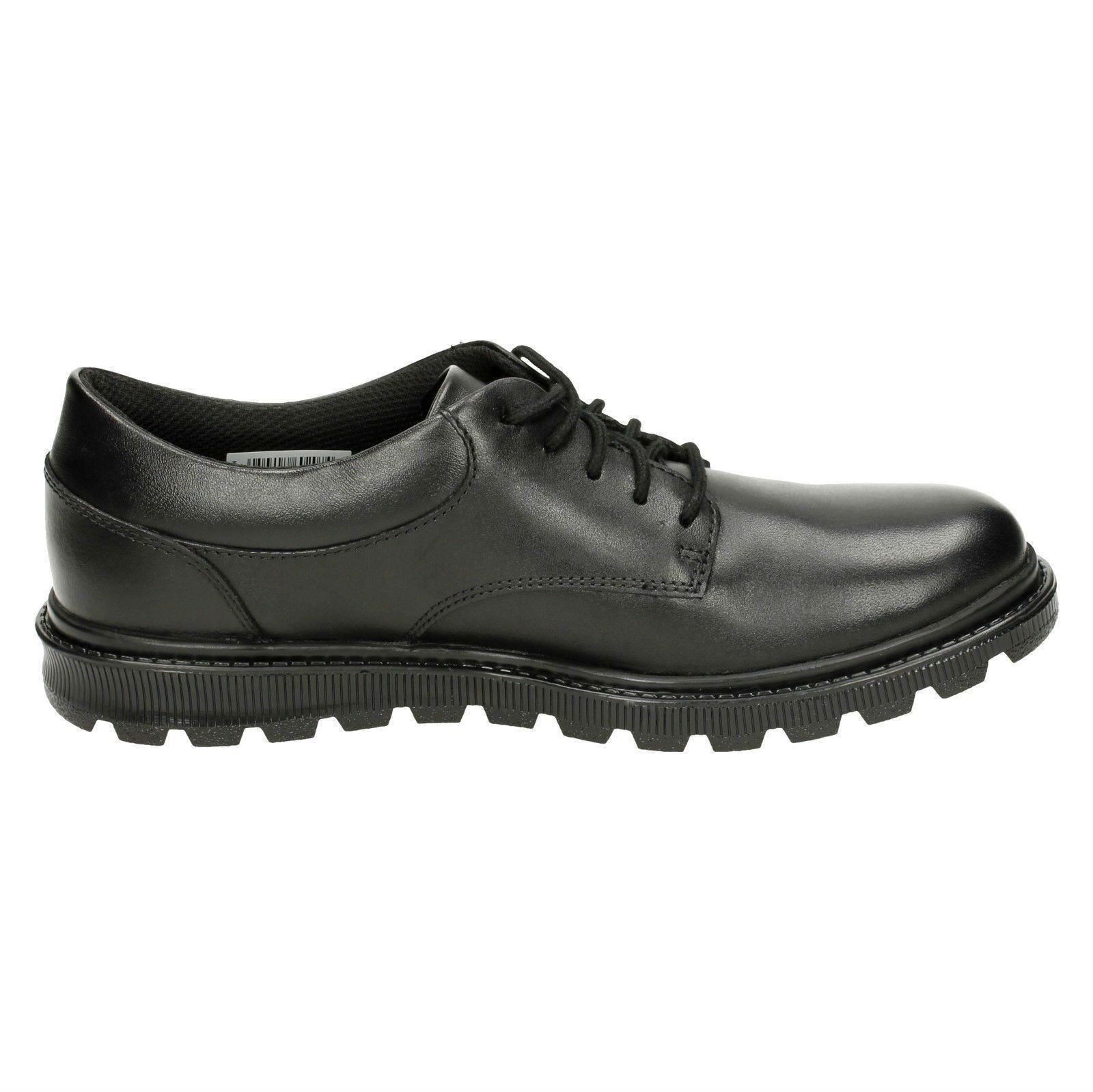 Boys Bootleg By Clarks School Shoes /'Mayes Trek/'