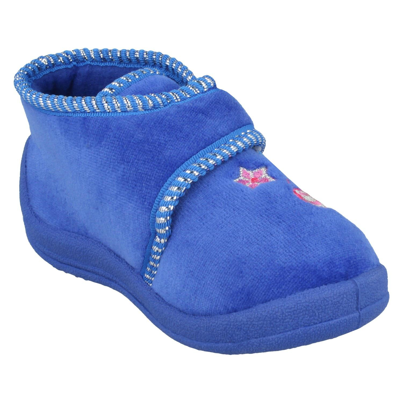 """Ragazze Spot on Solette Pantofole /""""Con Dettaglio A Farfalla/"""""""