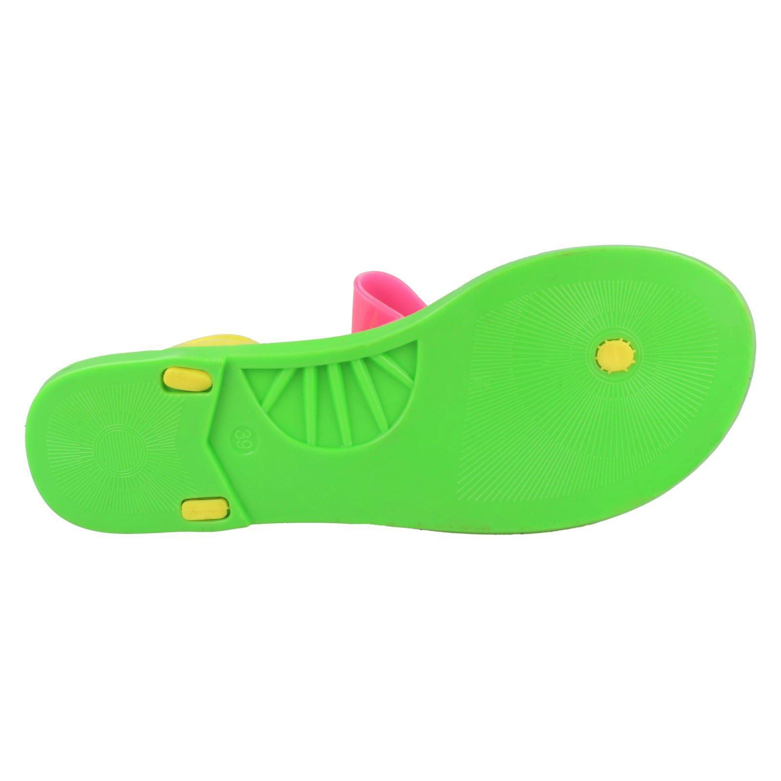 "Filles Spot on Plat Toe Post Bow /""Sandales/'s"
