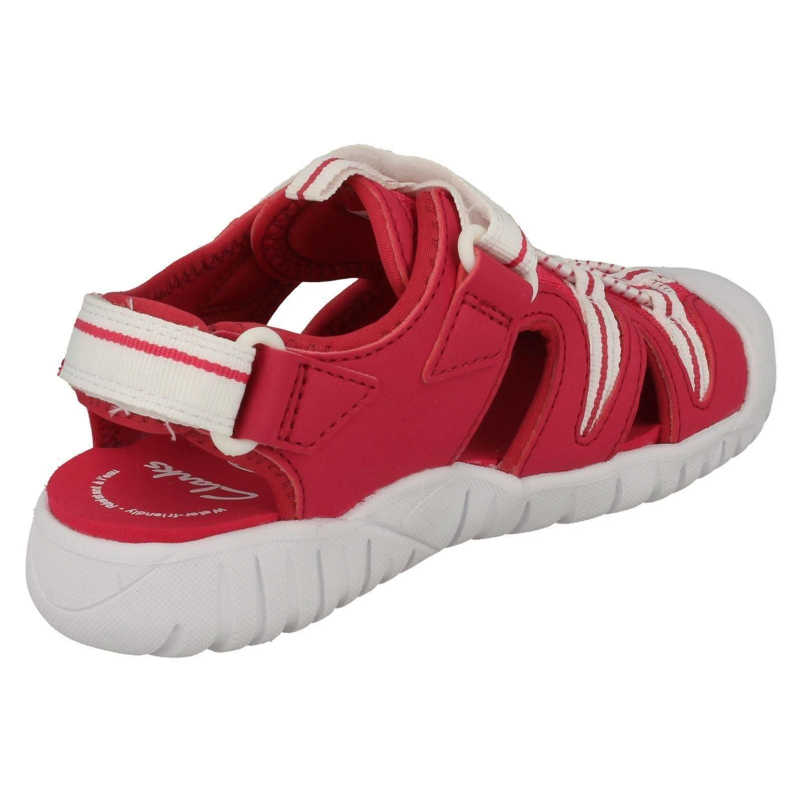 Clarks Girls Casual Trainer Sandals /'Rapid Beach/'