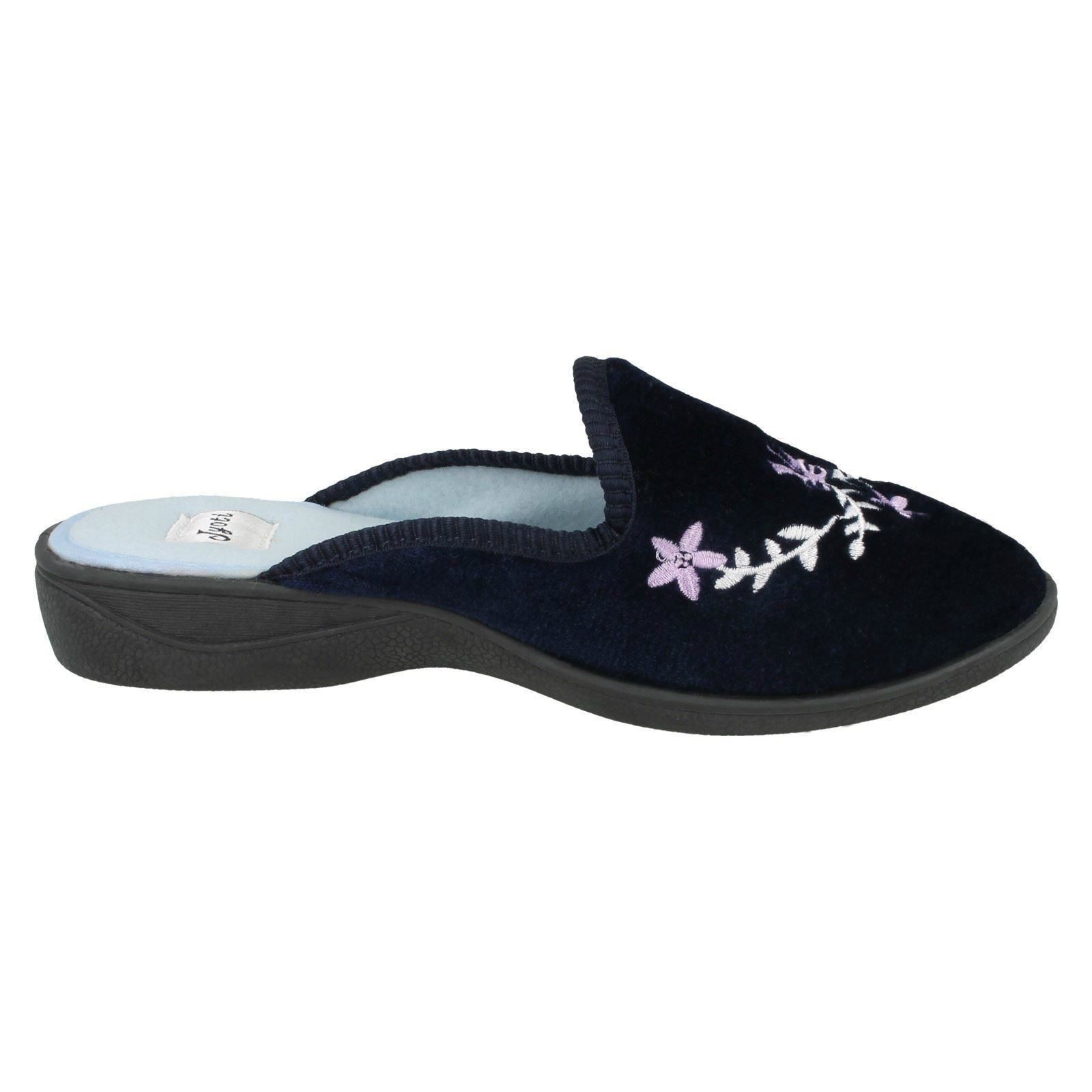 Ladies Jyoti Open Back Mule Slippers /'P05F44-7/'