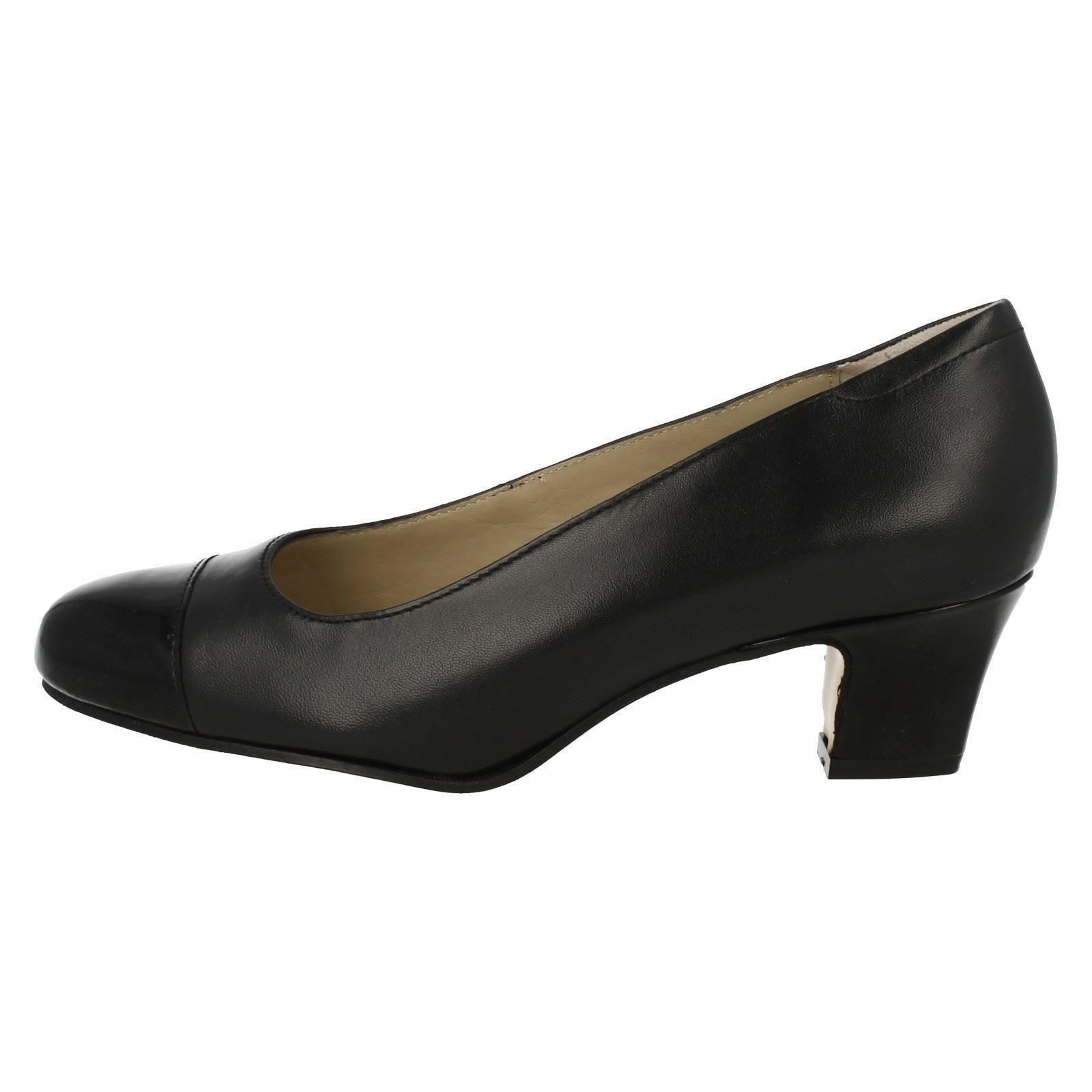 Ladies Equity Wide Fitting Classic Court Shoes /'Camilla/'