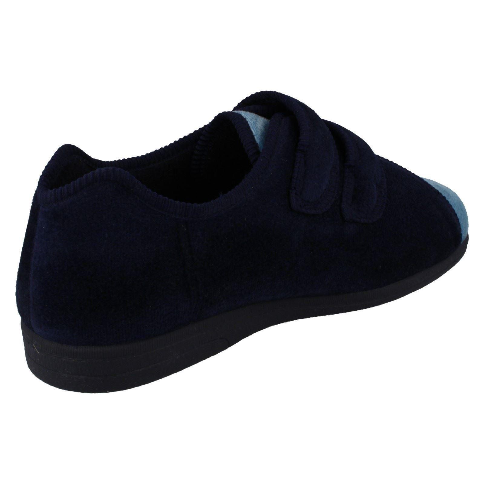 Ladies Sandpiper Cushioned Heel Slippers /'Mandy/'