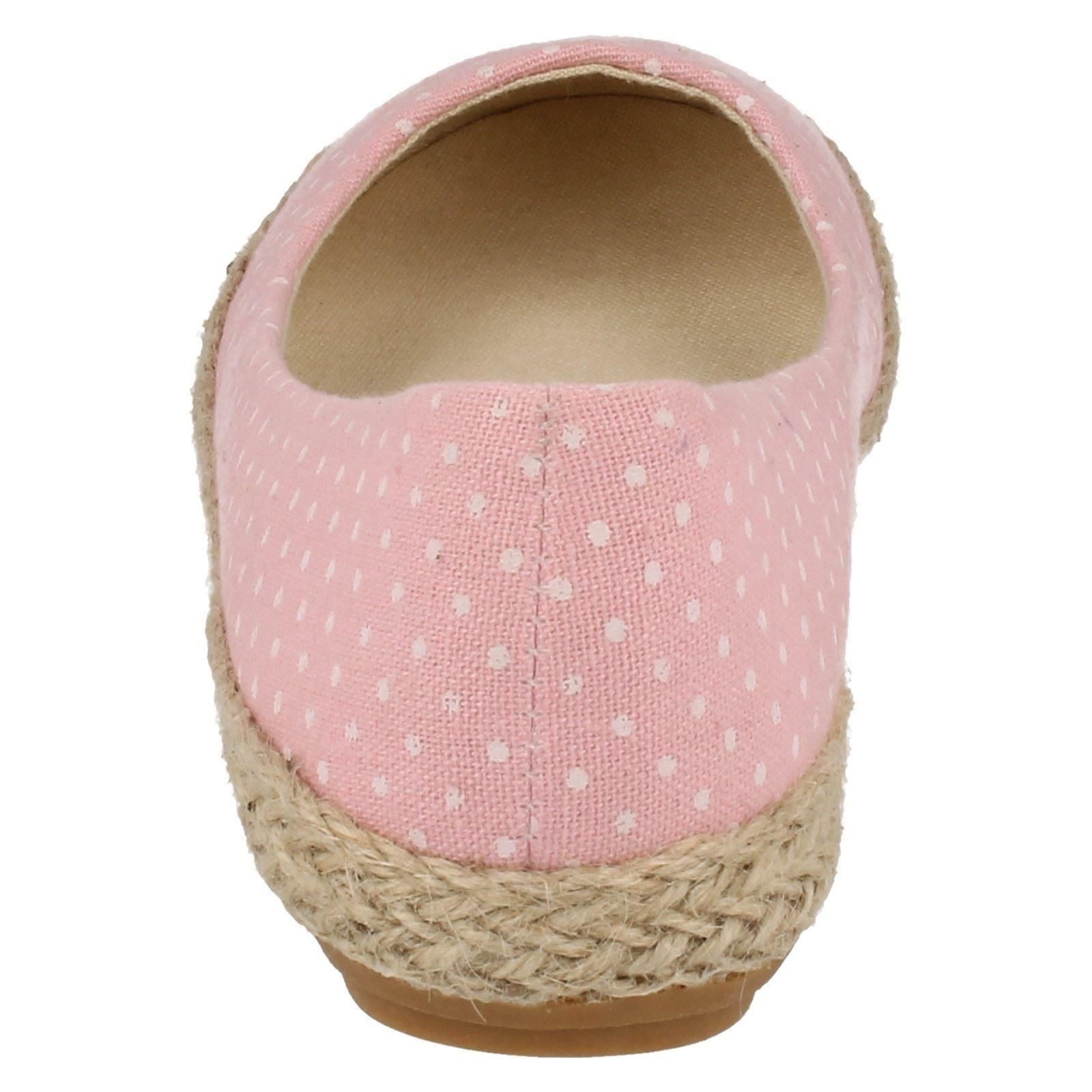 Ladies Spot On Flat Polka Dot Shoes