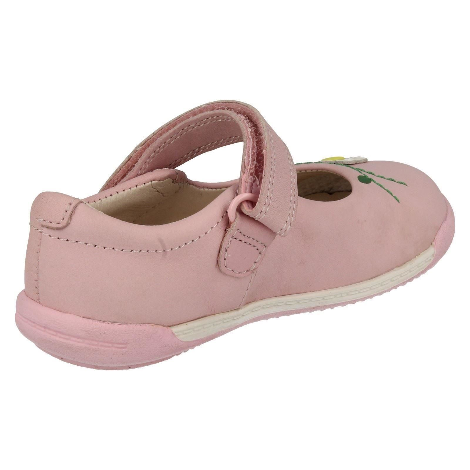 Infant Girls Clarks Softly Jam First Walking Shoes