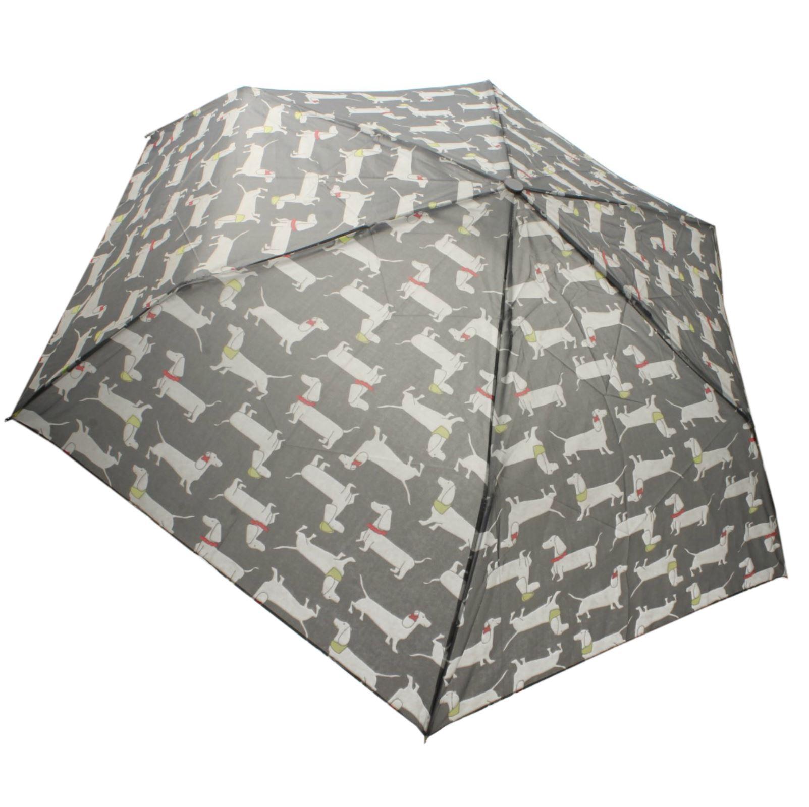 Ladies Drizzles UU332 Supermini Dog Print Umbrella