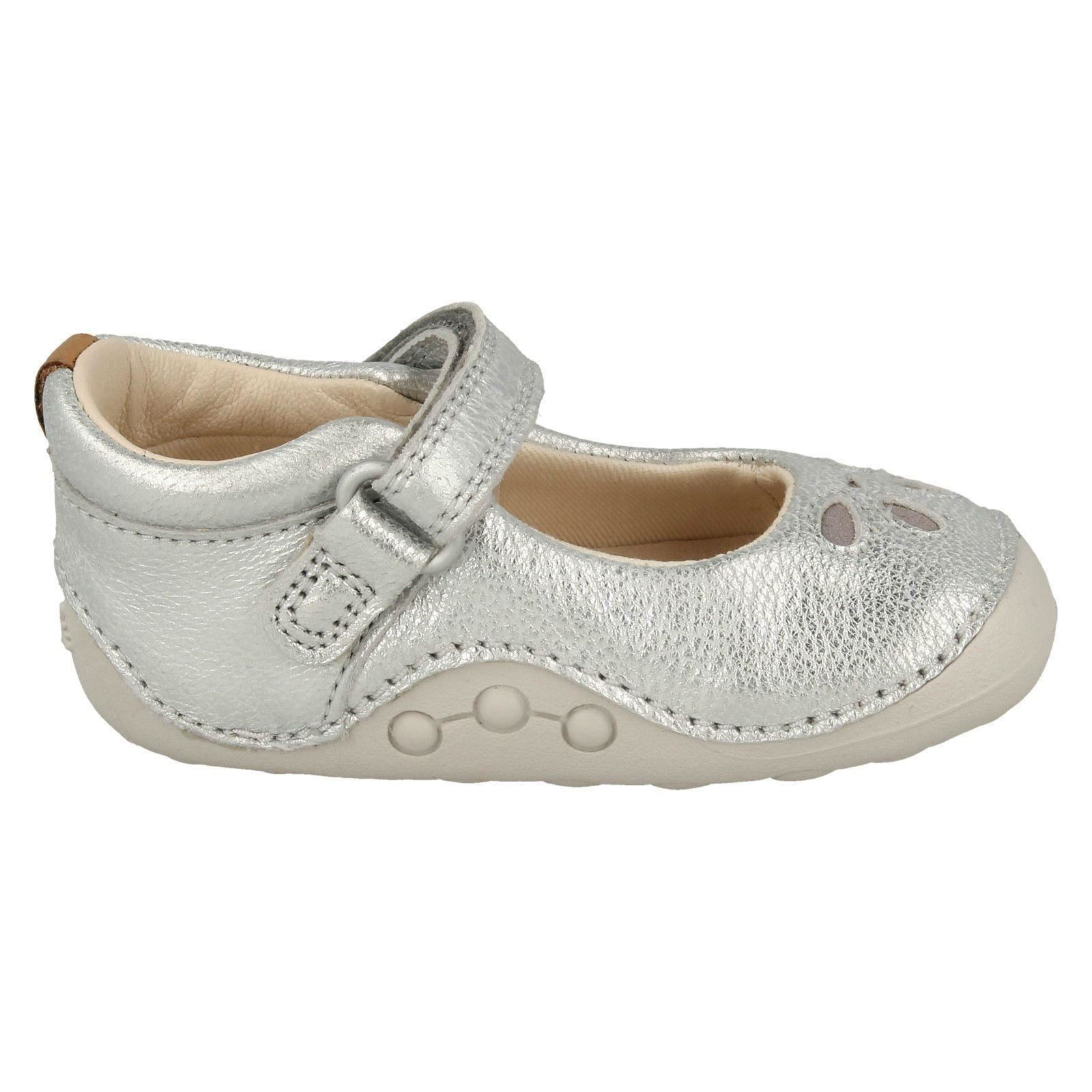 Girls Clarks Gorgeous Pre-Walker Shoes /'Tiny Eden/'