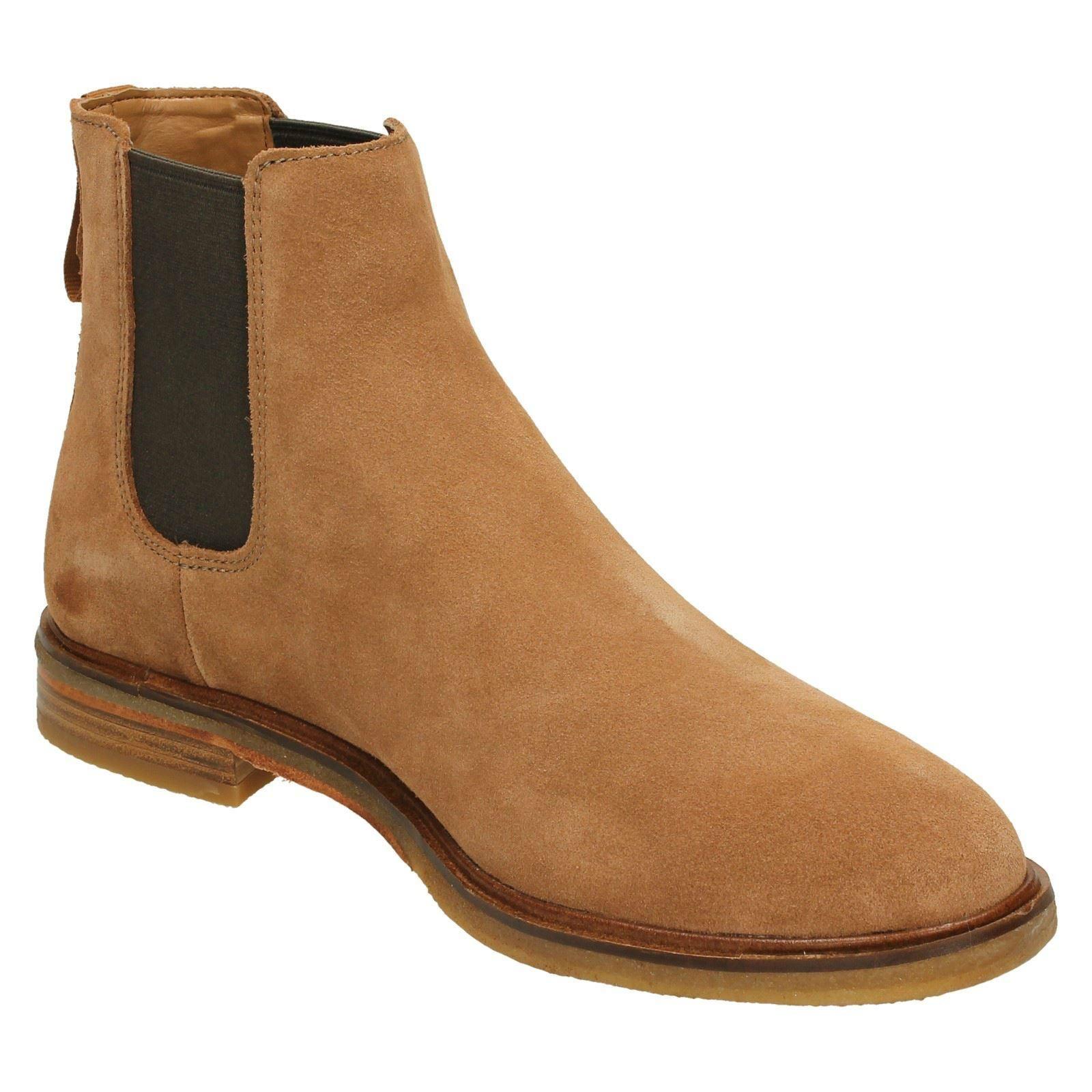 Mens Clarks Chelsea Boots *Clarkdale Gobi*