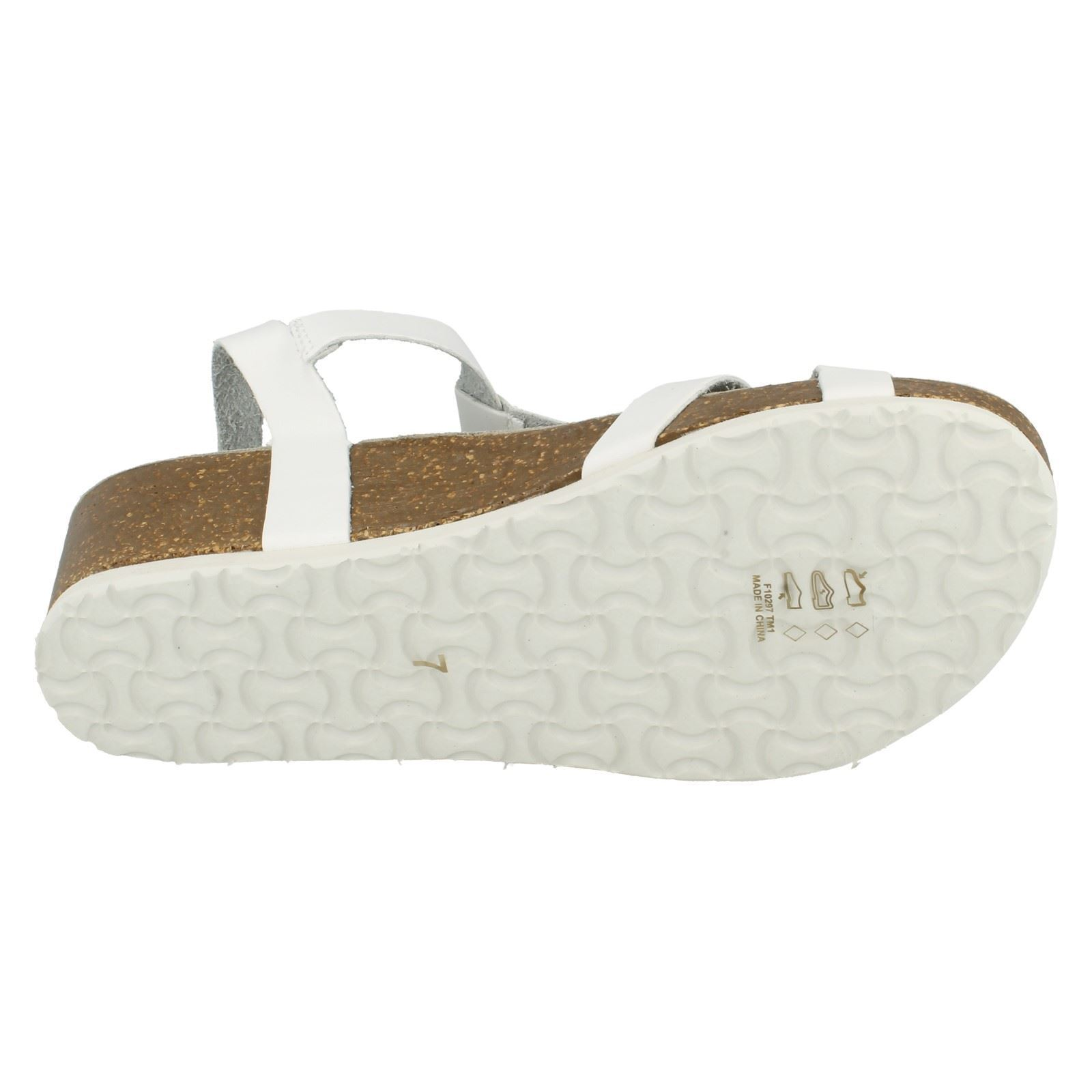 Down To Earth Ladies Block Sandals
